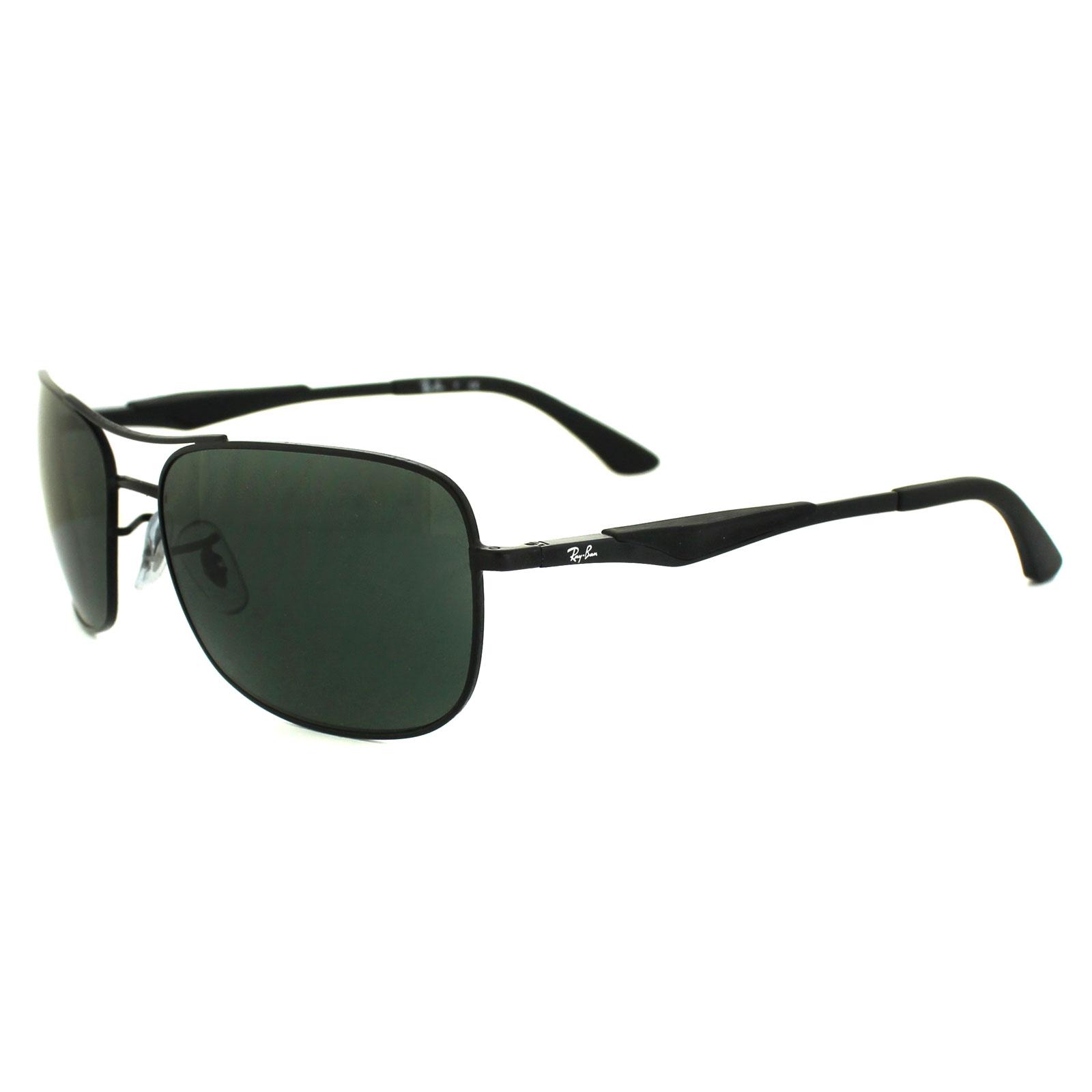 ray ban sonnenbrillen schwarz matt