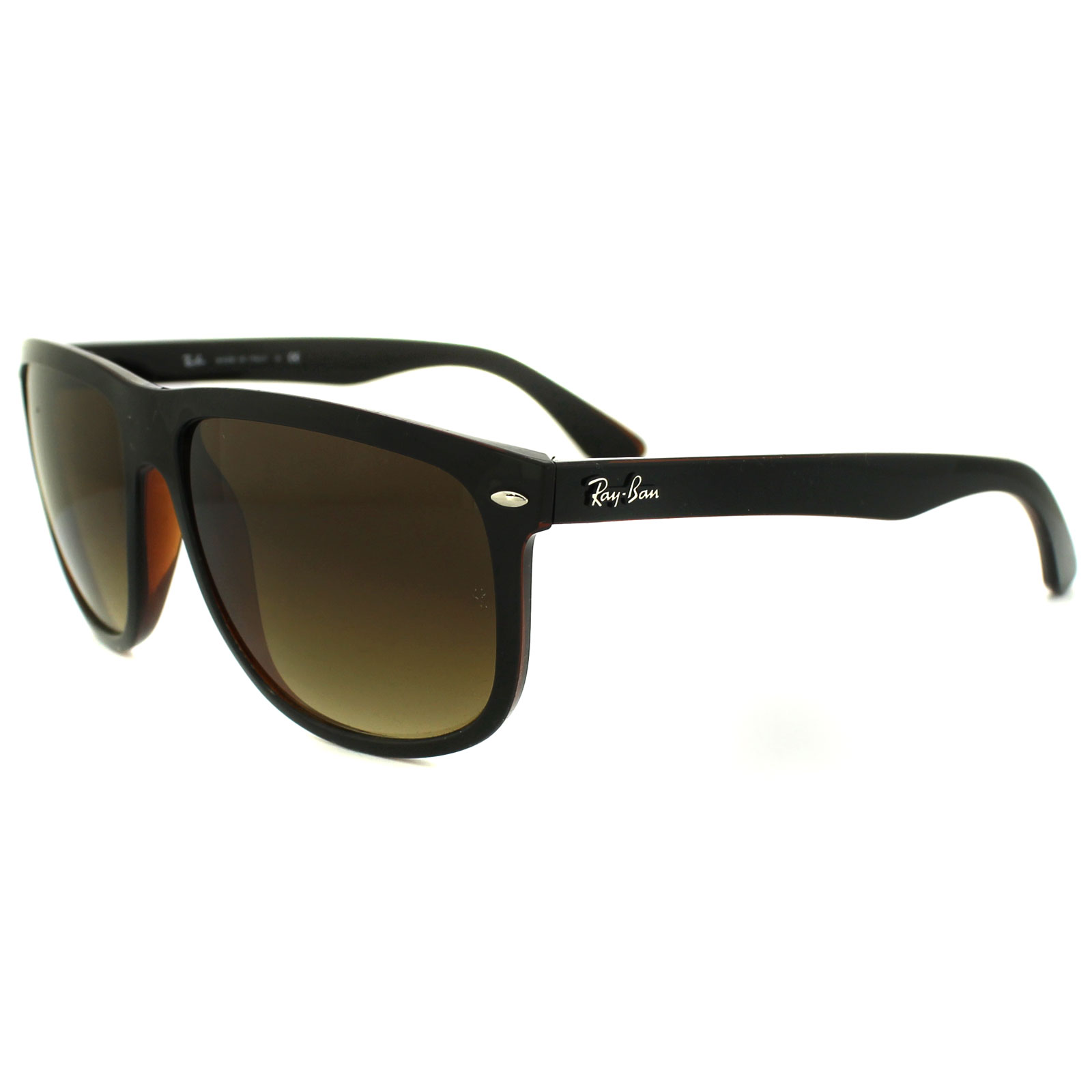 Sentinel Ray-Ban Sunglasses 4147 609585 Top Black on Brown Brown Gradient 49b7d68124