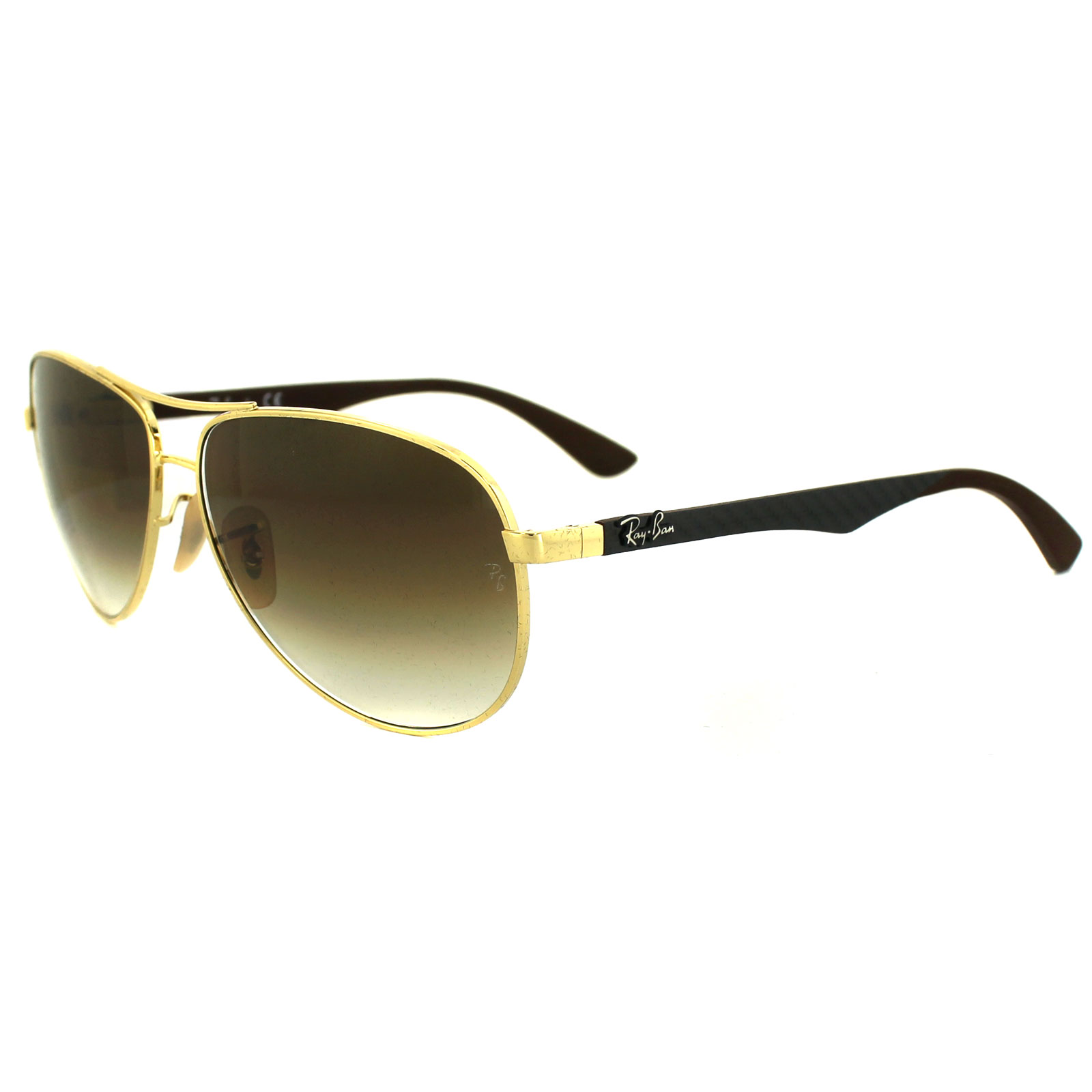 8392f1c5cbb ... czech sentinel ray ban sunglasses 8313 001 51 gold brown gradient cbe91  3d3f9