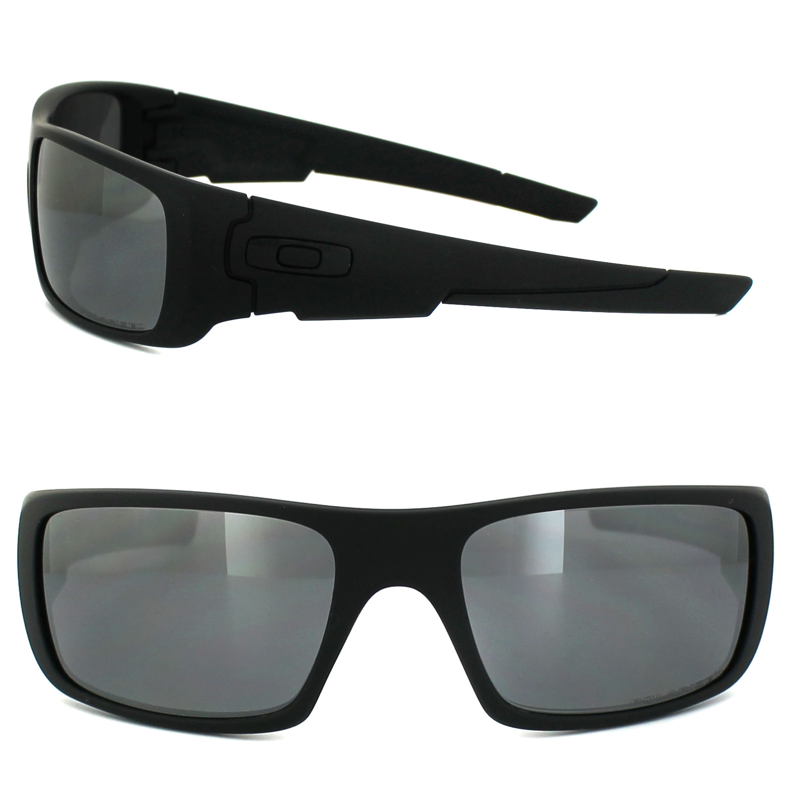 8c31e4944f Sentinel Oakley Sunglasses Crankshaft OO9239-06 Matt Black Black Iridium  Polarized