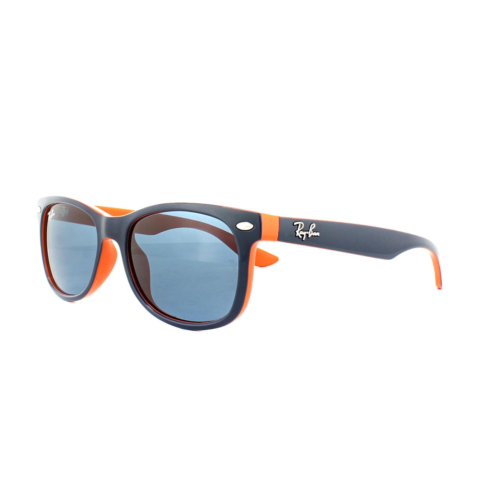 daa0a169c57d5 Sentinel Ray-Ban Junior Sunglasses 9052 178 80 Dark Blue   Orange Blue