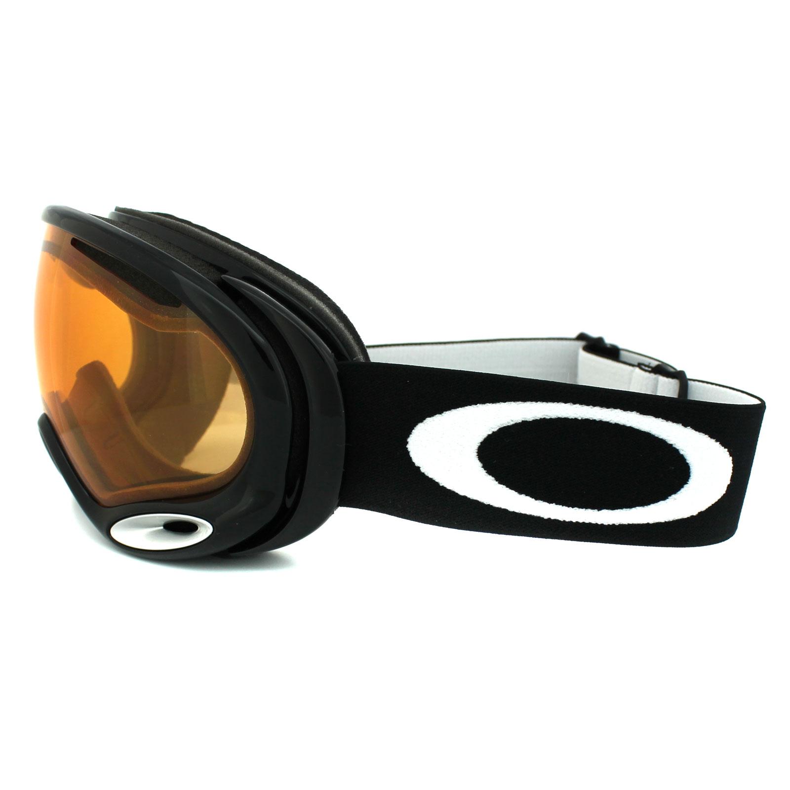 Oakley Ski Goggles A Frame 2.0 59-633 Jet Black Persimmon ...