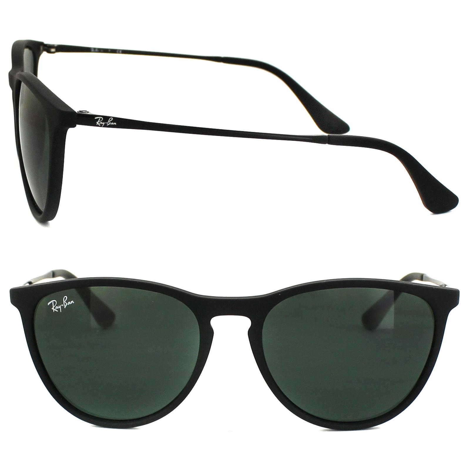 b555c44e11 Sentinel Ray-Ban Junior Sunglasses Izzy 9060 700571 Rubber Black Green