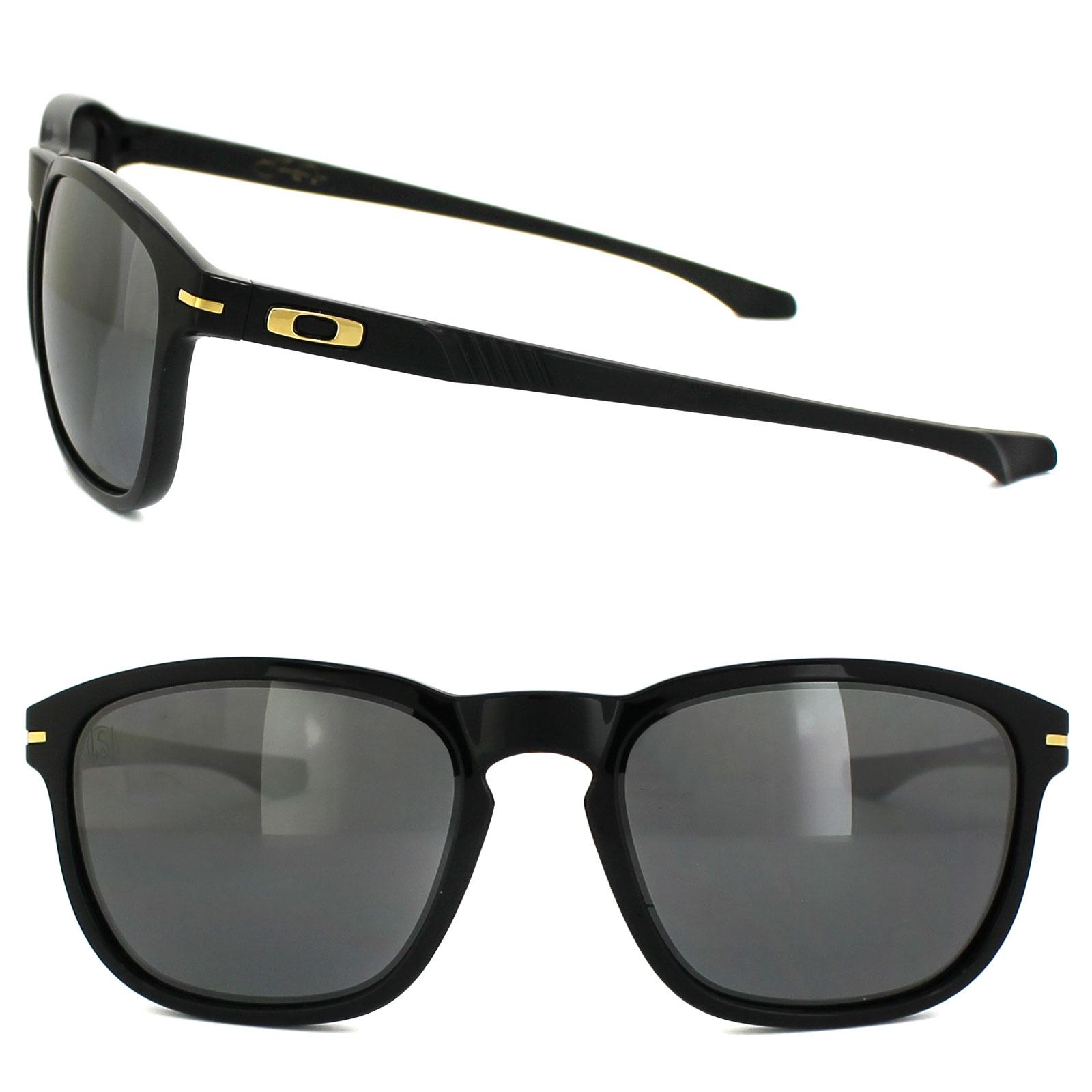 8dbb535e1a2 Sentinel Oakley Sunglasses Enduro OO9223-05 Shaun White Polished Black  Iridium Polarized