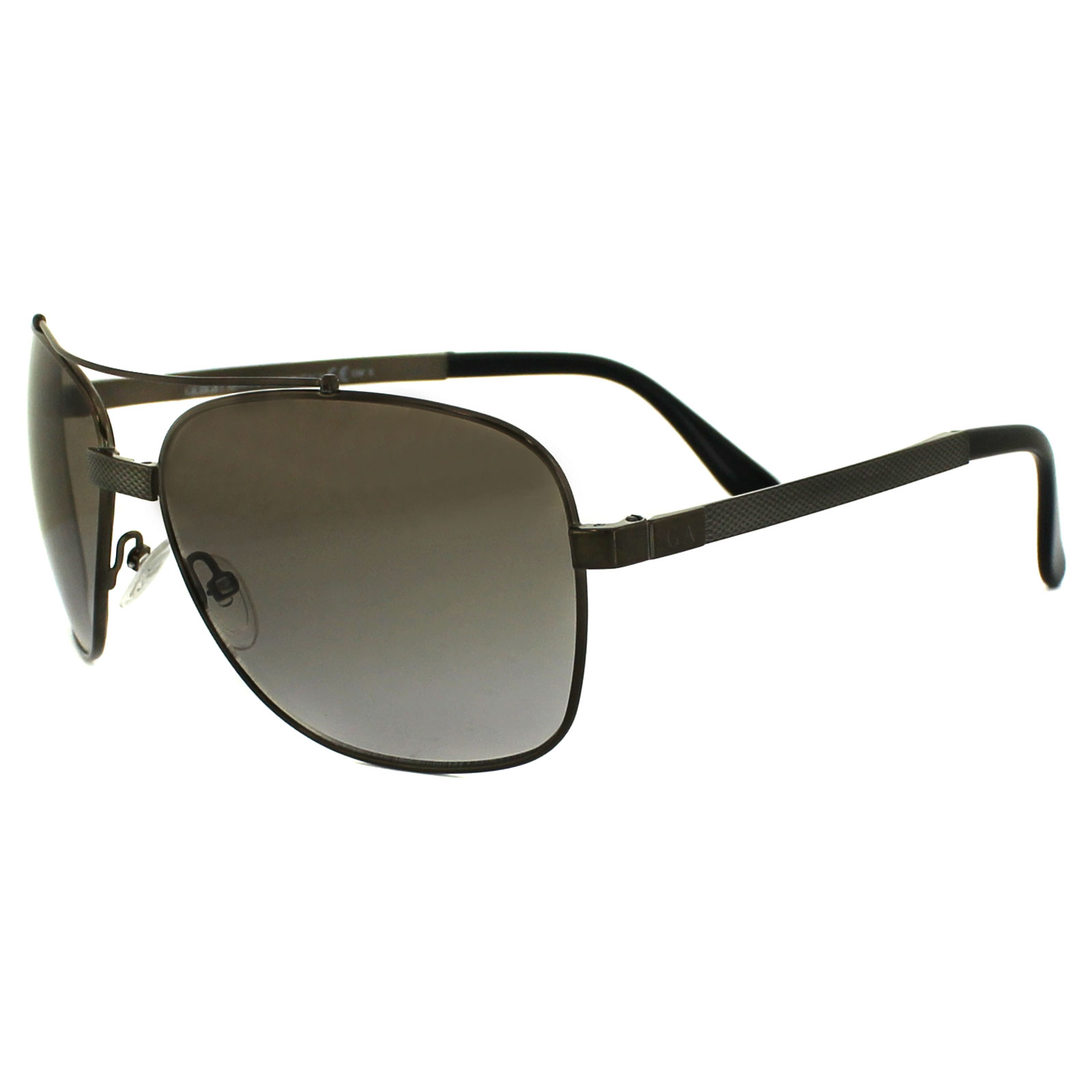 475069105a3 Details about Giorgio Armani Sunglasses 917 XBC 81 Brown Brown Grey Gradient
