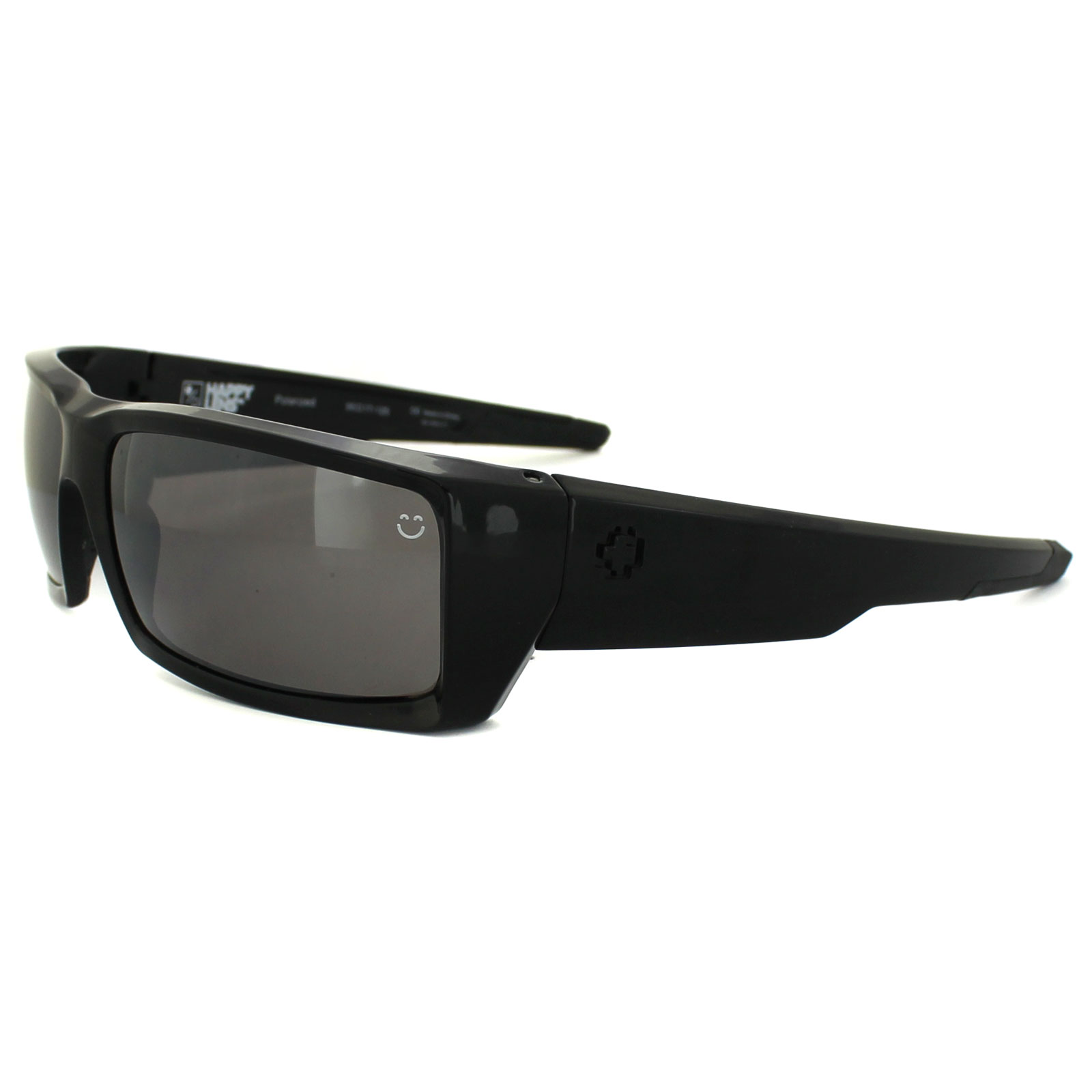 a9010113155 Spy Sunglasses General Black Happy Black Polarized 648478737082