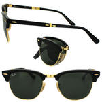 Ray-Ban Clubmaster Folding 2176 Sunglasses Thumbnail 2