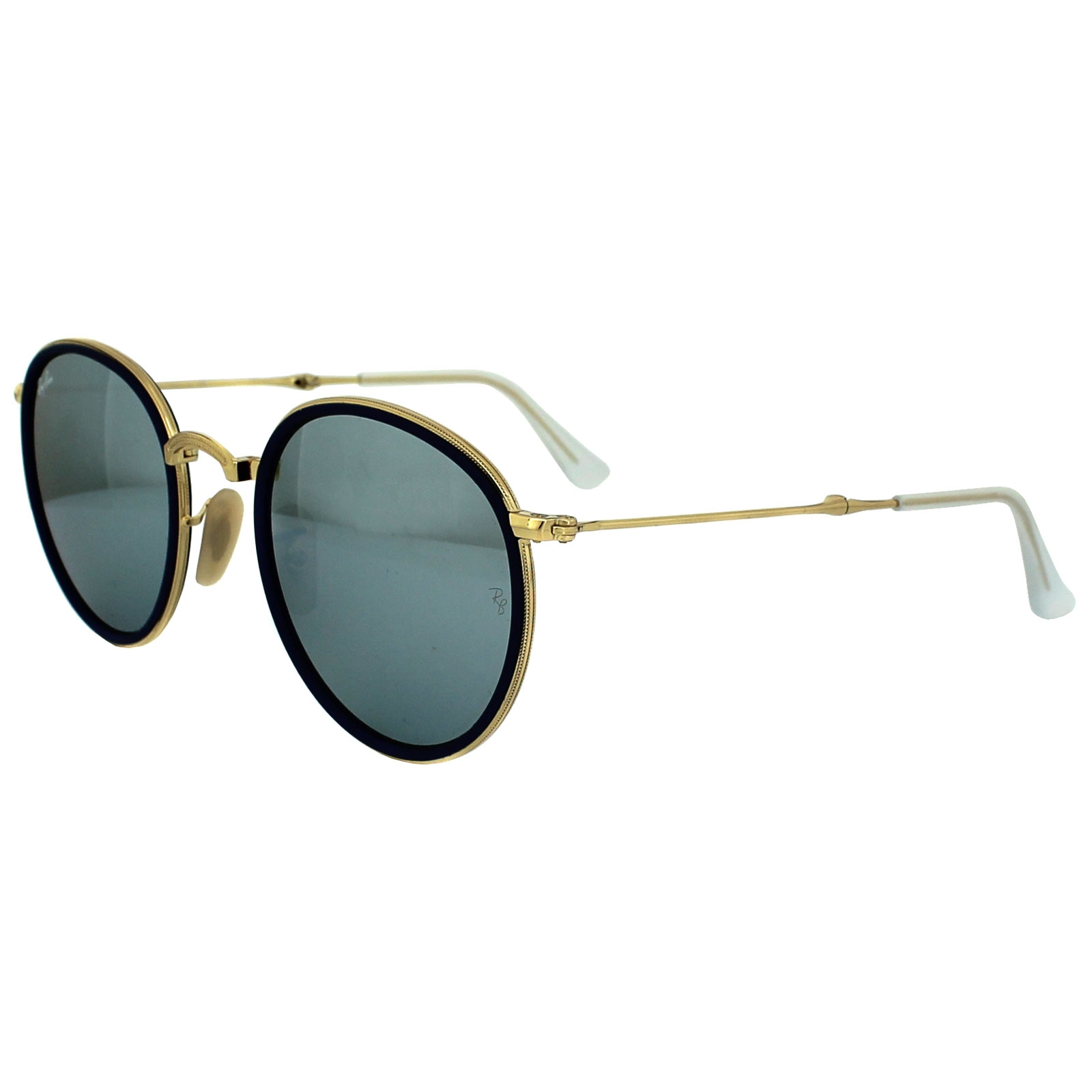 Round Ban Ray 3517 Sunglasses Folding 1c3lJTFK