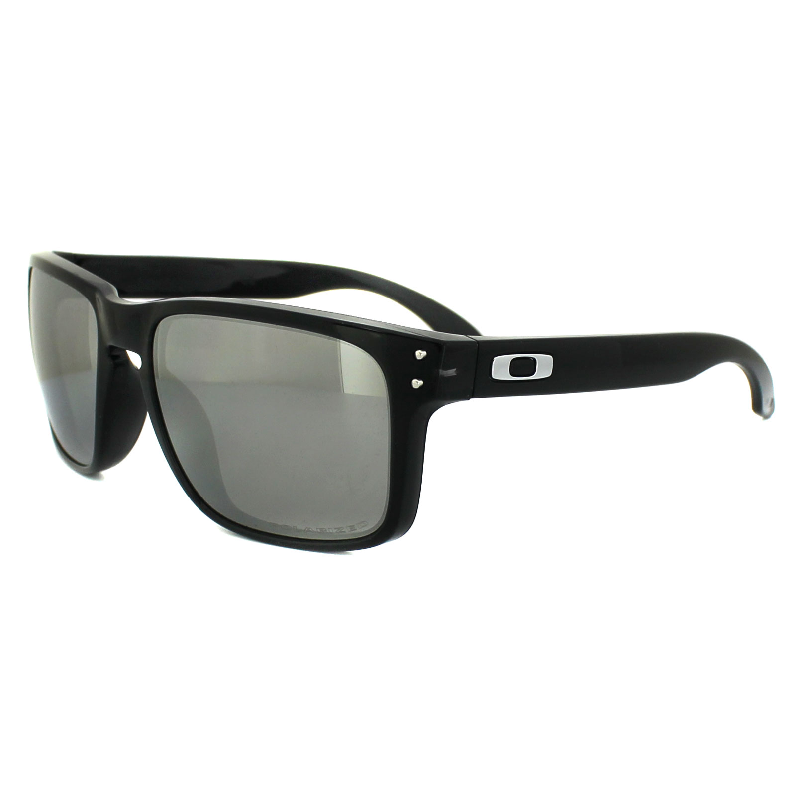 Sentinel Oakley Sunglasses Holbrook OO9102-68 Black Ink Chrome Iridium  Polarized