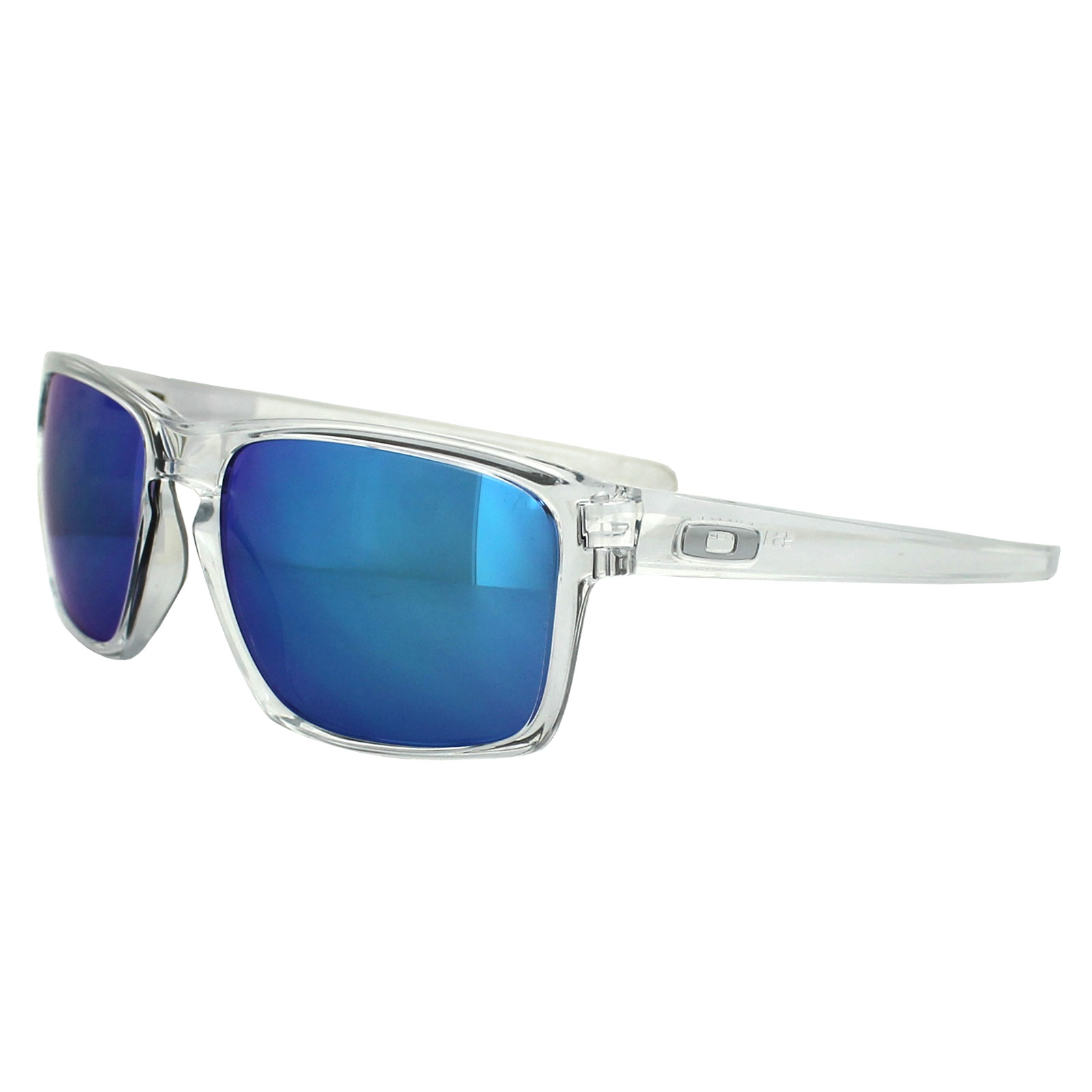 Oakley Sunglasses Sliver OO9262-06 Polished Clear Sapphire Iridium ...