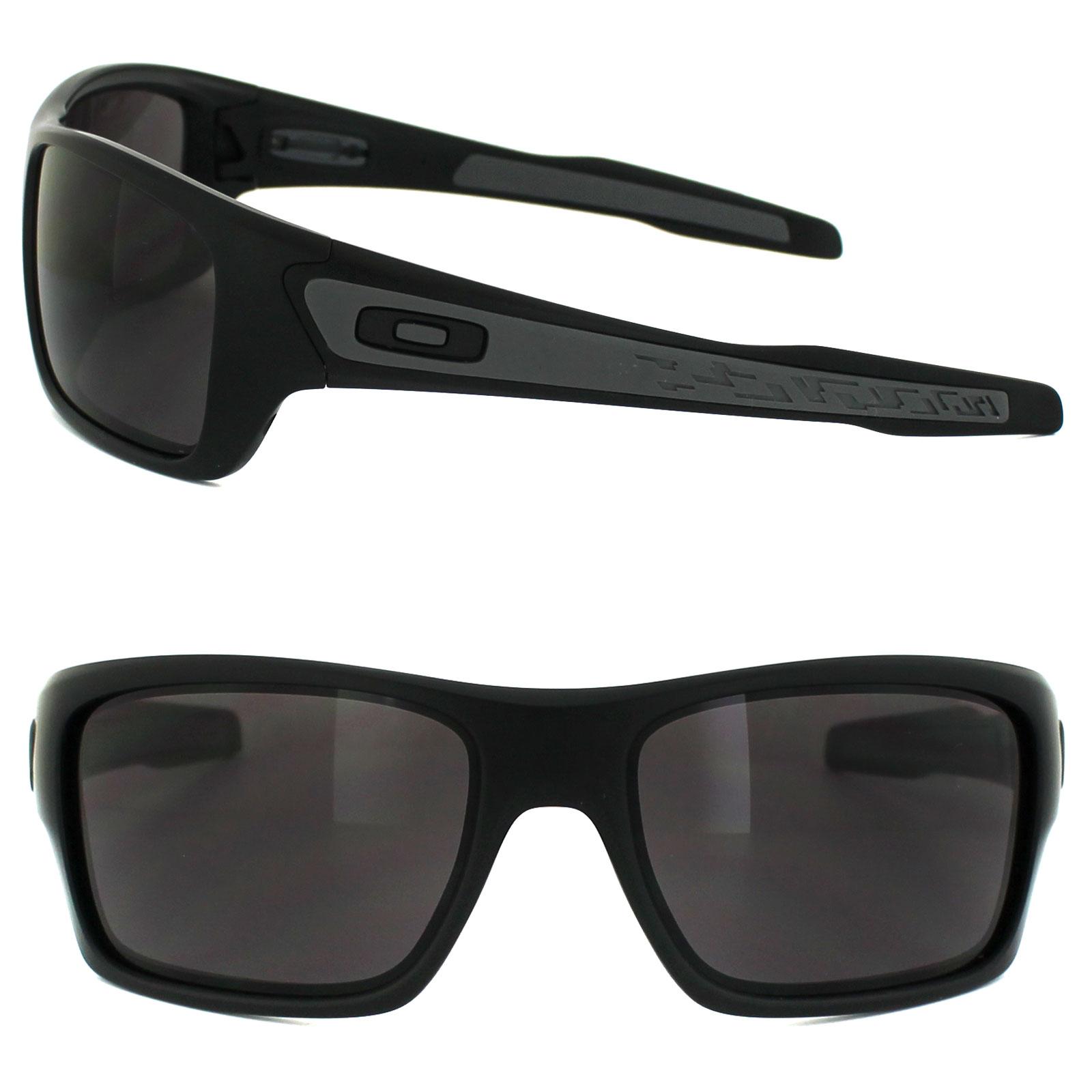 95c1bef5f1 Sentinel Oakley Sunglasses Turbine OO9263-01 Matt Black Warm Grey