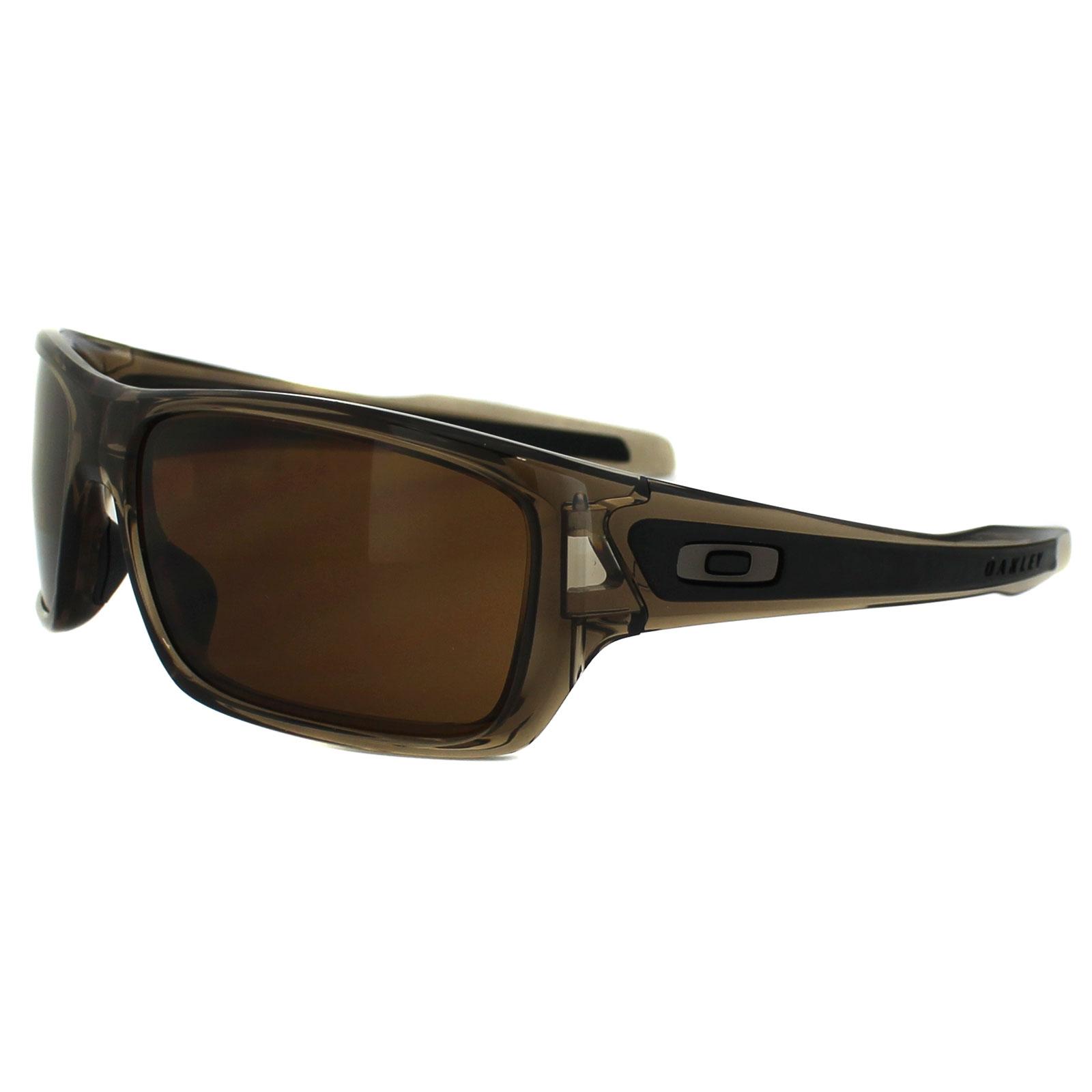 0adf259627f Sentinel Oakley Sunglasses Turbine OO9263-02 Brown Smoke Dark Bronze
