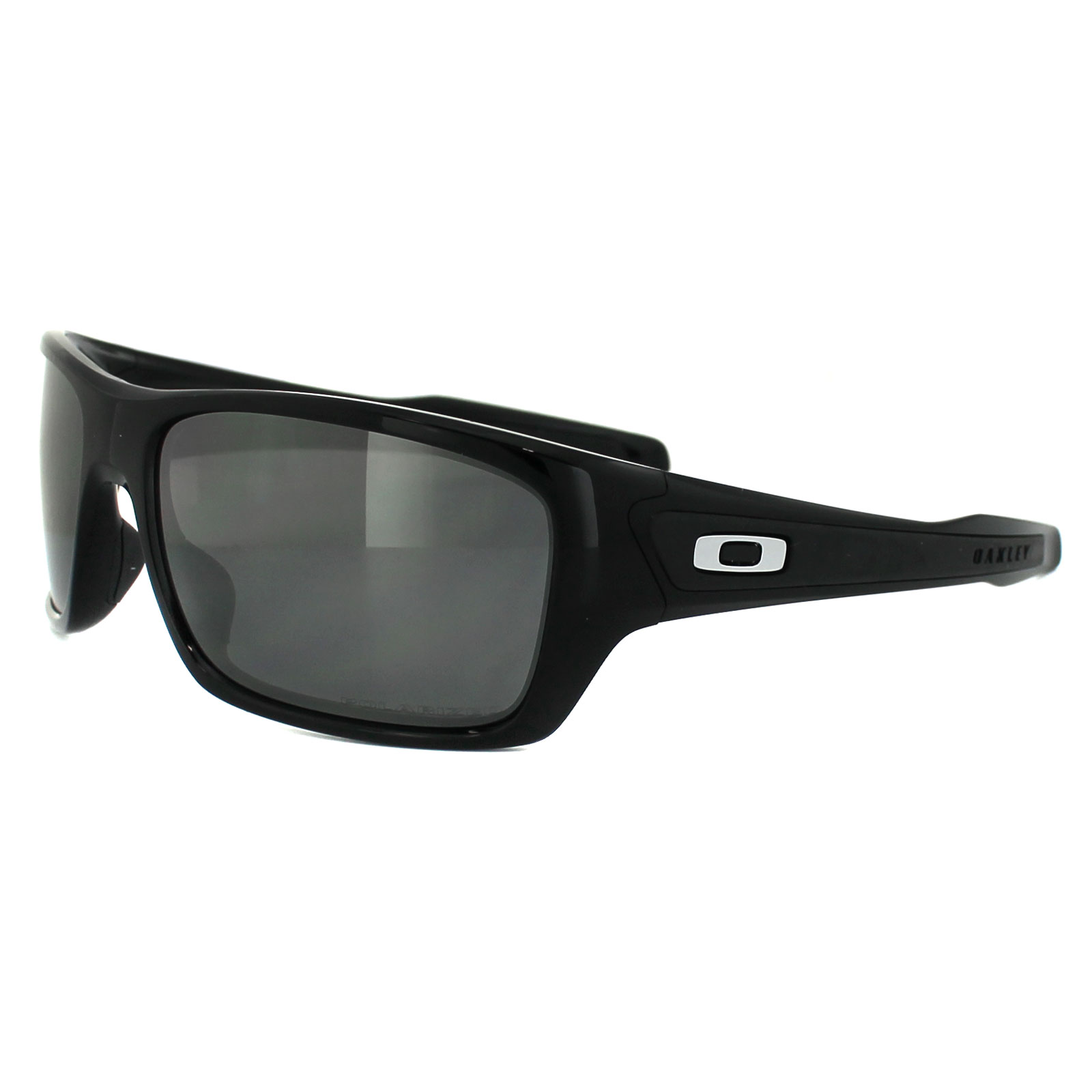 de8699808ad35 Sentinel Oakley Sunglasses Turbine OO9263-08 Polished Black Black Iridium  Polarized