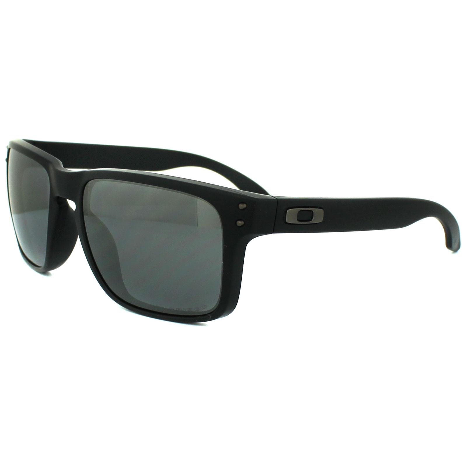 57e3b0b4f5 Sentinel Oakley Sunglasses Holbrook OO9102-62 Matt Black Black Iridium  Polarized