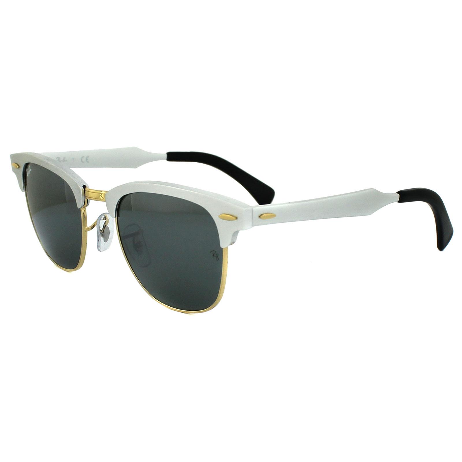 Sentinel Ray-Ban Sunglasses Clubmaster Aluminium 3507 137 40 Silver Silver  Mirror f9b886d76c9b