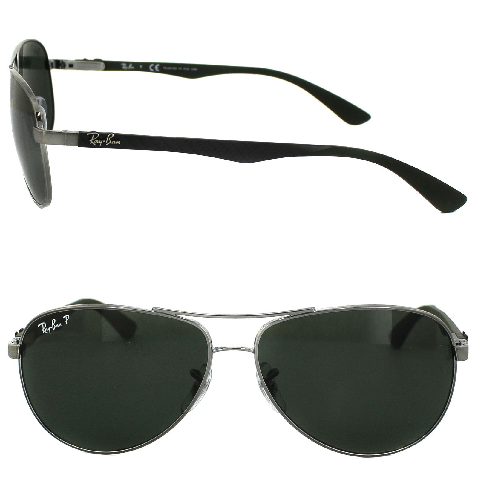0d77735b6db ... ireland sentinel ray ban sunglasses 8313 004 n5 gunmetal green  polarized b2b0b 48645