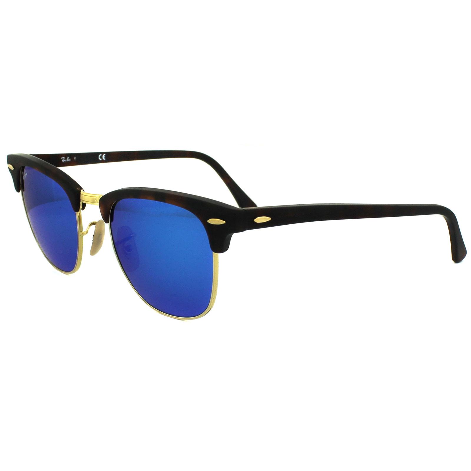 ee46ce5eeb sweden sentinel ray ban sunglasses clubmaster 3016 114517 matt tortoise blue  flash mirror small 8e287 755a3