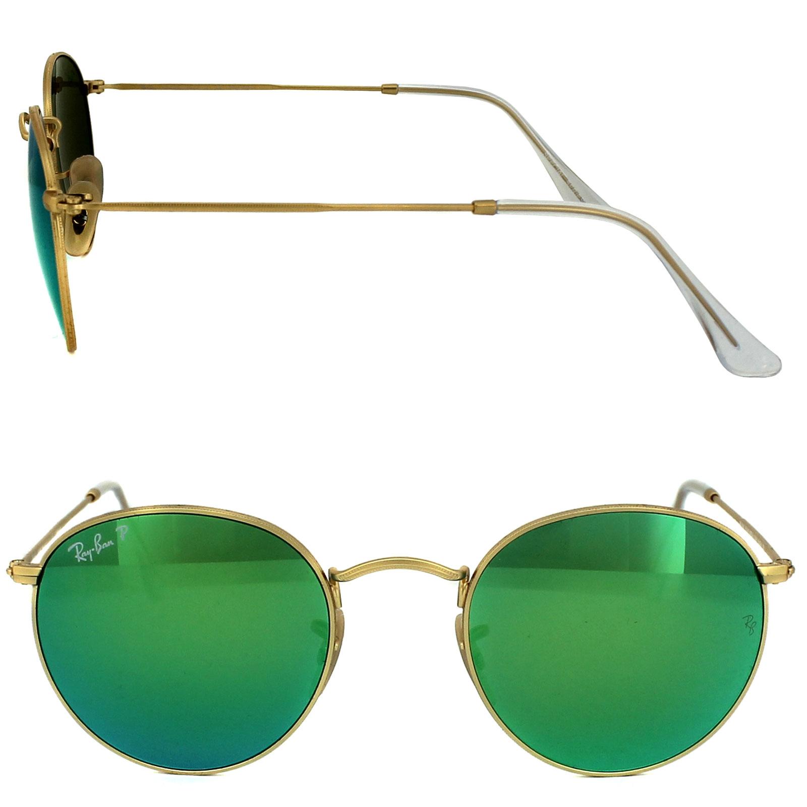 ray ban aviator grün polarisiert