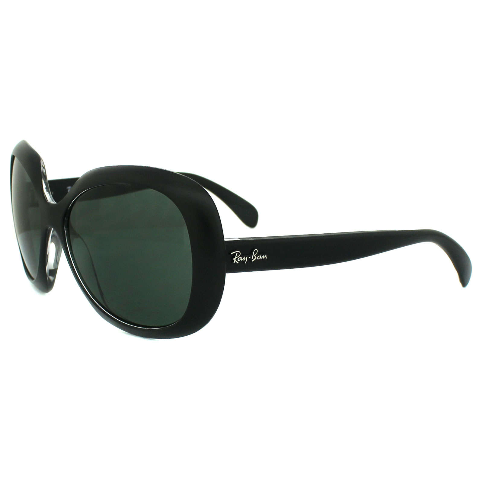 Black On 610071 Transparent Details Green Ban Top Ray Sunglasses Matt About 4208 2EeW9YHID