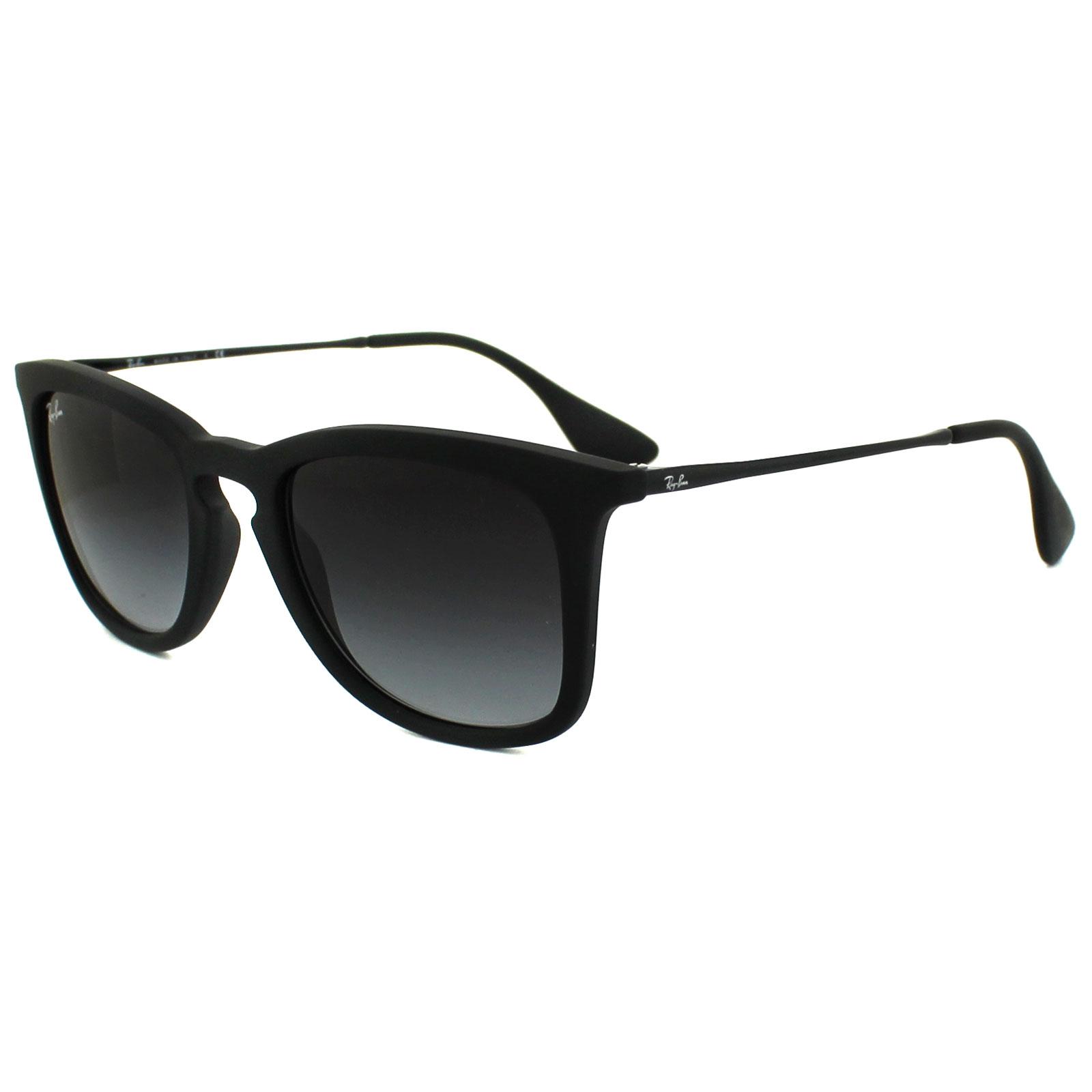 b4385a64524 Sentinel Ray-Ban Sunglasses 4221 622 8G Black Rubber Grey Gradient
