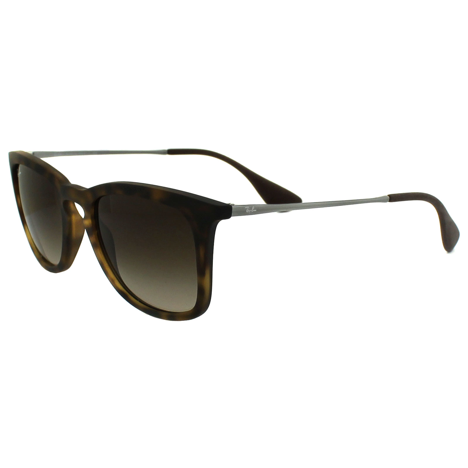 86513 Rubber Ray Ban Details Brown About Sunglasses Tortoise 4221 Gradient E2IH9DWY