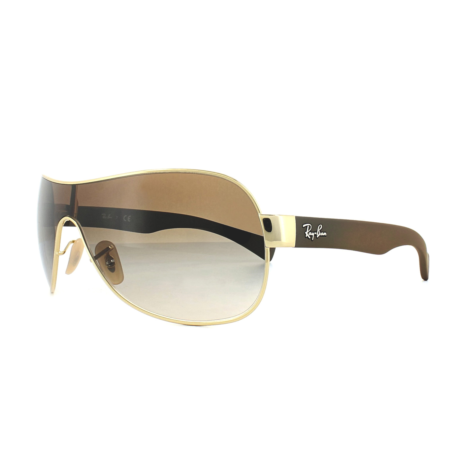 e9fb9122d1 Ray-Ban Sunglasses 3471 001 13 Gold Brown Gradient 713132452936