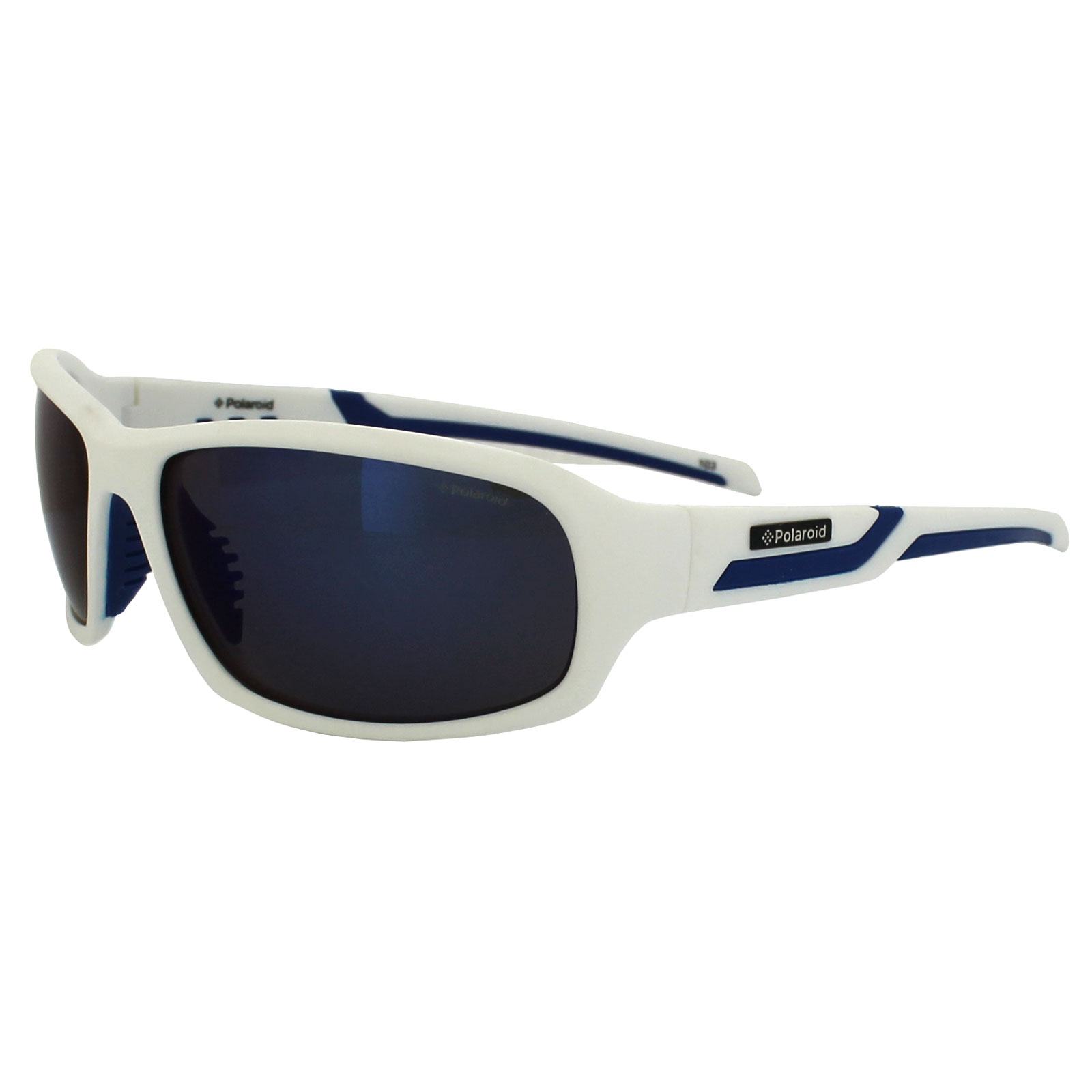 48b8c3aba10 Sentinel Polaroid Sport Sunglasses P7406 22J JY White   Blue Grey Blue  Mirror Polarized