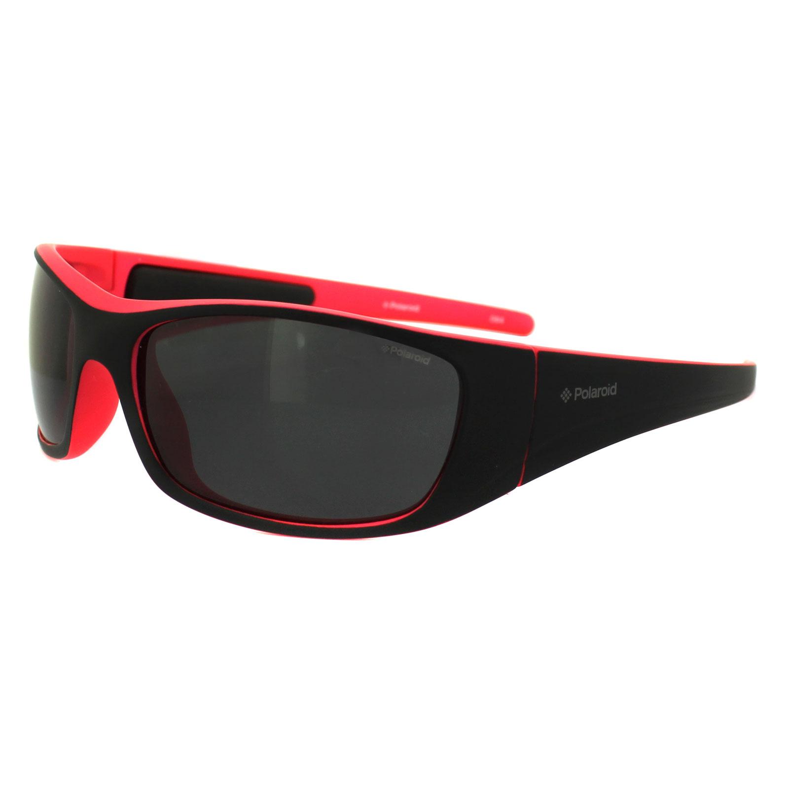 651bc058973 Sentinel Polaroid Sport Sunglasses P7420 G48 Y2 Black   Rose Grey Polarized