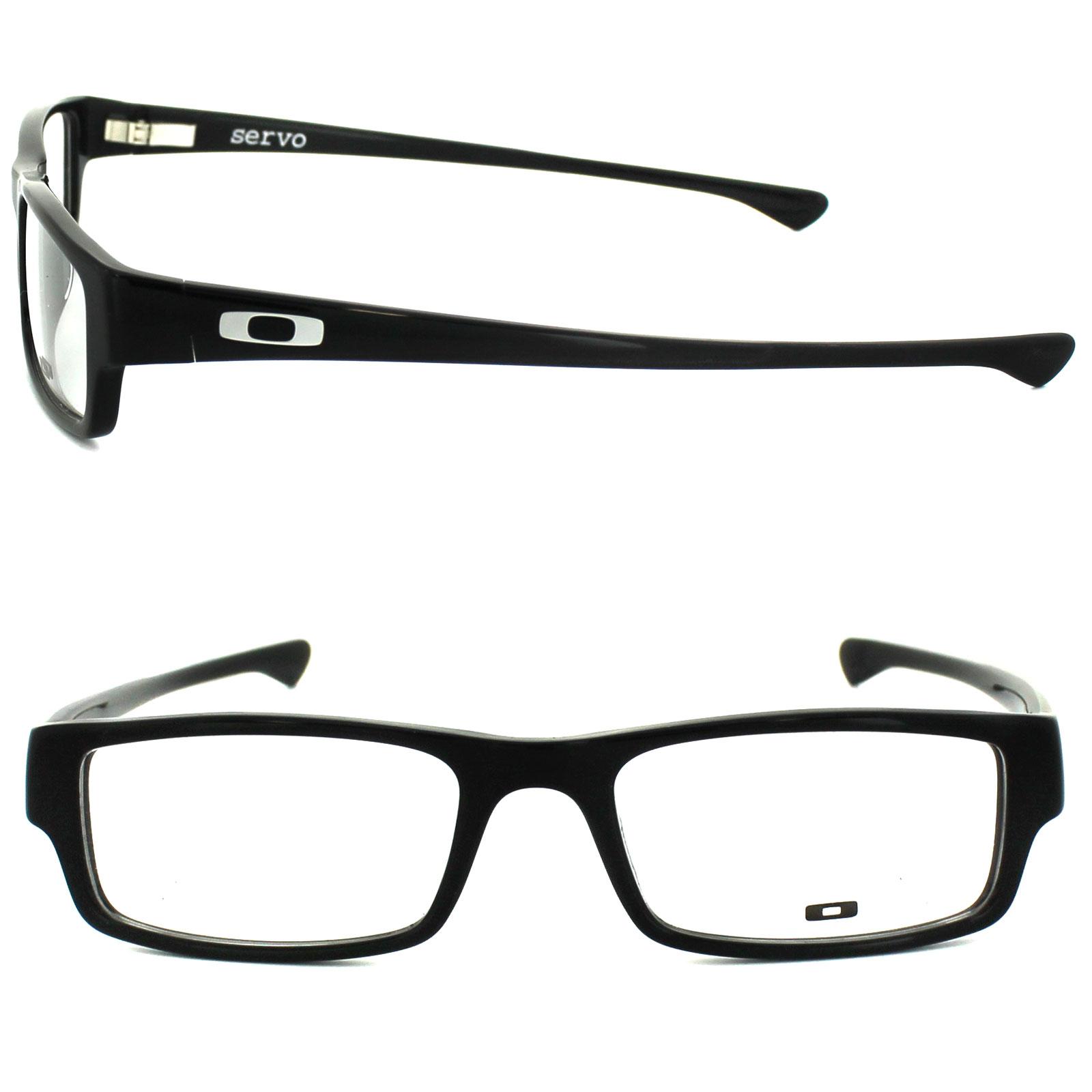 Oakley Glasses Frames Servo 1066-01 Polished Black 51mm   eBay