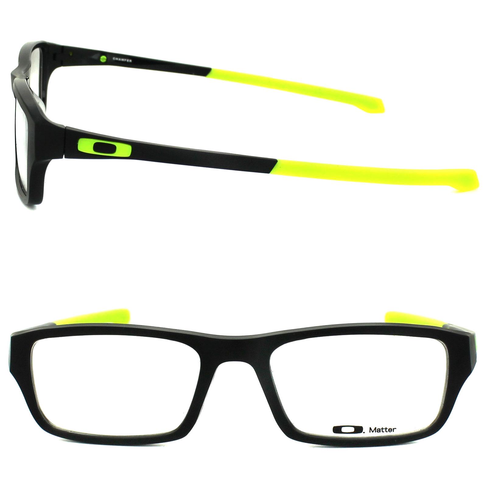 2caeb022a6 Sentinel Oakley Glasses Frames Chamfer 8039-06 Matt Black Retina Burn