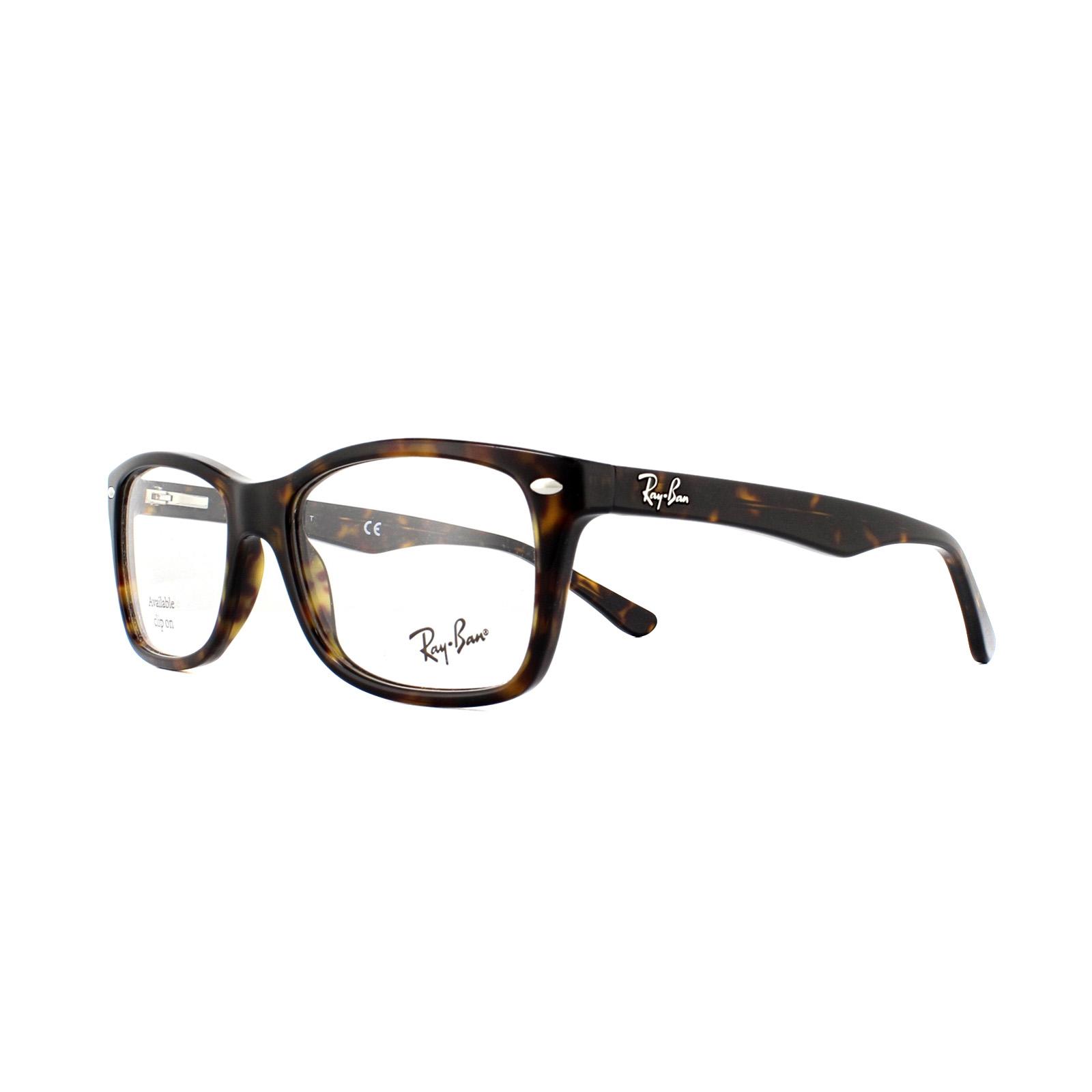 4669236d562 Cheap Ray-Ban Glasses Frames 5228 2012 Dark Havana 50mm - Discounted ...