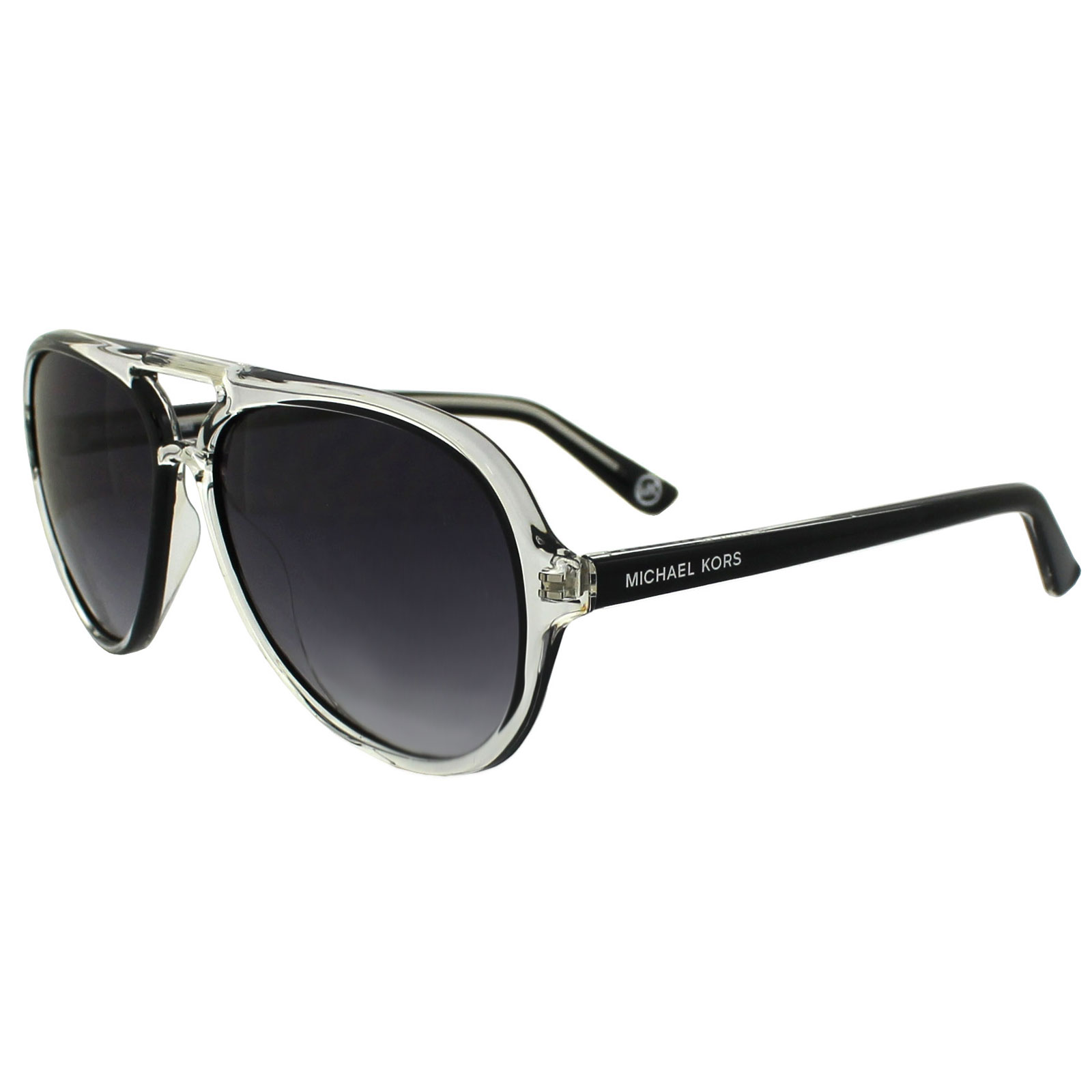 67321943a15b Sentinel Michael Kors Sunglasses Caicos M2811S 001 Black Crystal Grey  Gradient