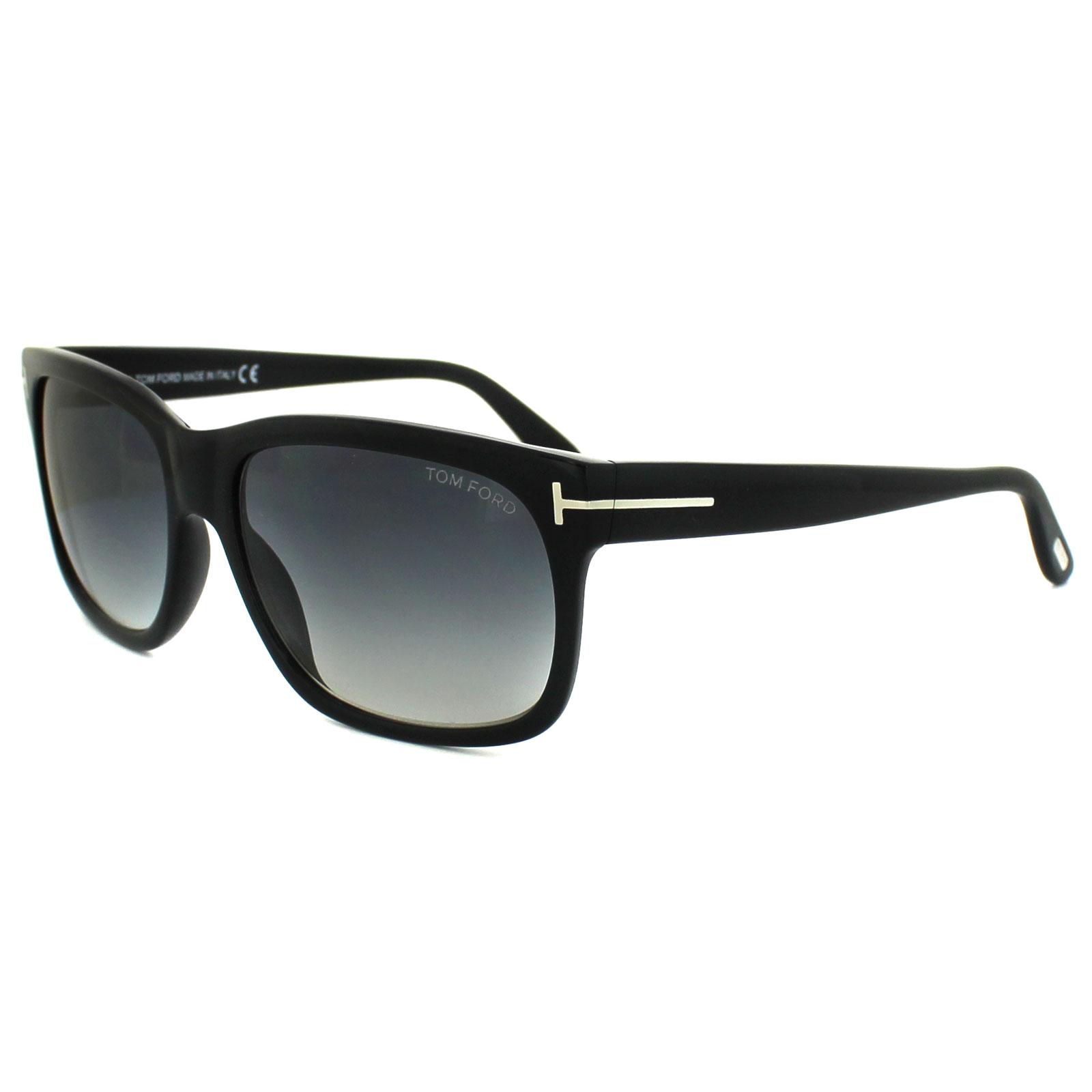 039d07cf76b9b Sentinel Tom Ford Sunglasses 0376 Barbara 02N Matt Black Blue Gradient