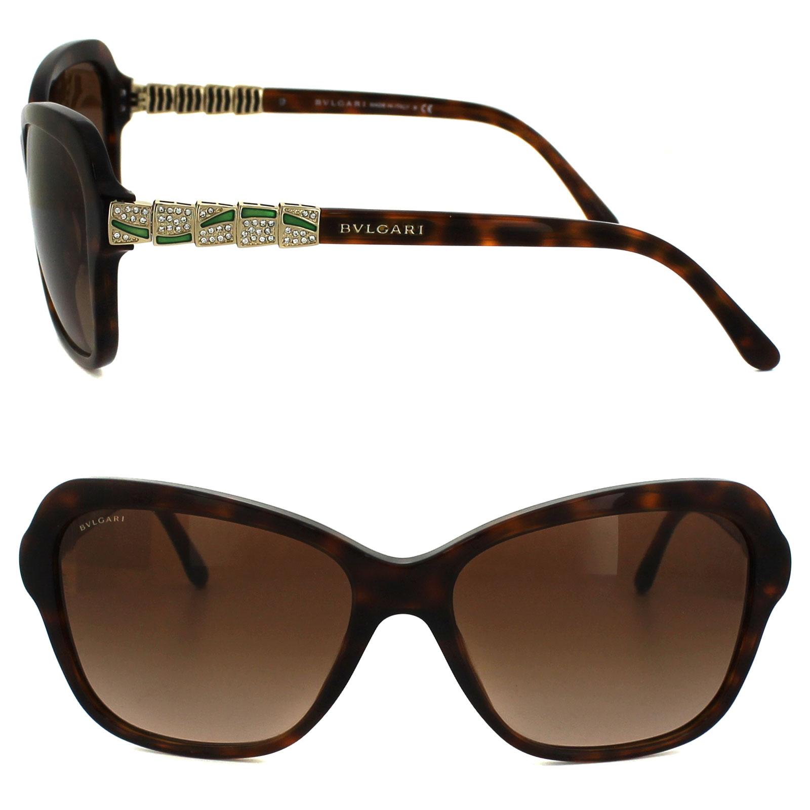 1ed5fc5a75 Sentinel Bvlgari Sunglasses 8142B 526813 Blonde Havana Brown Gradient