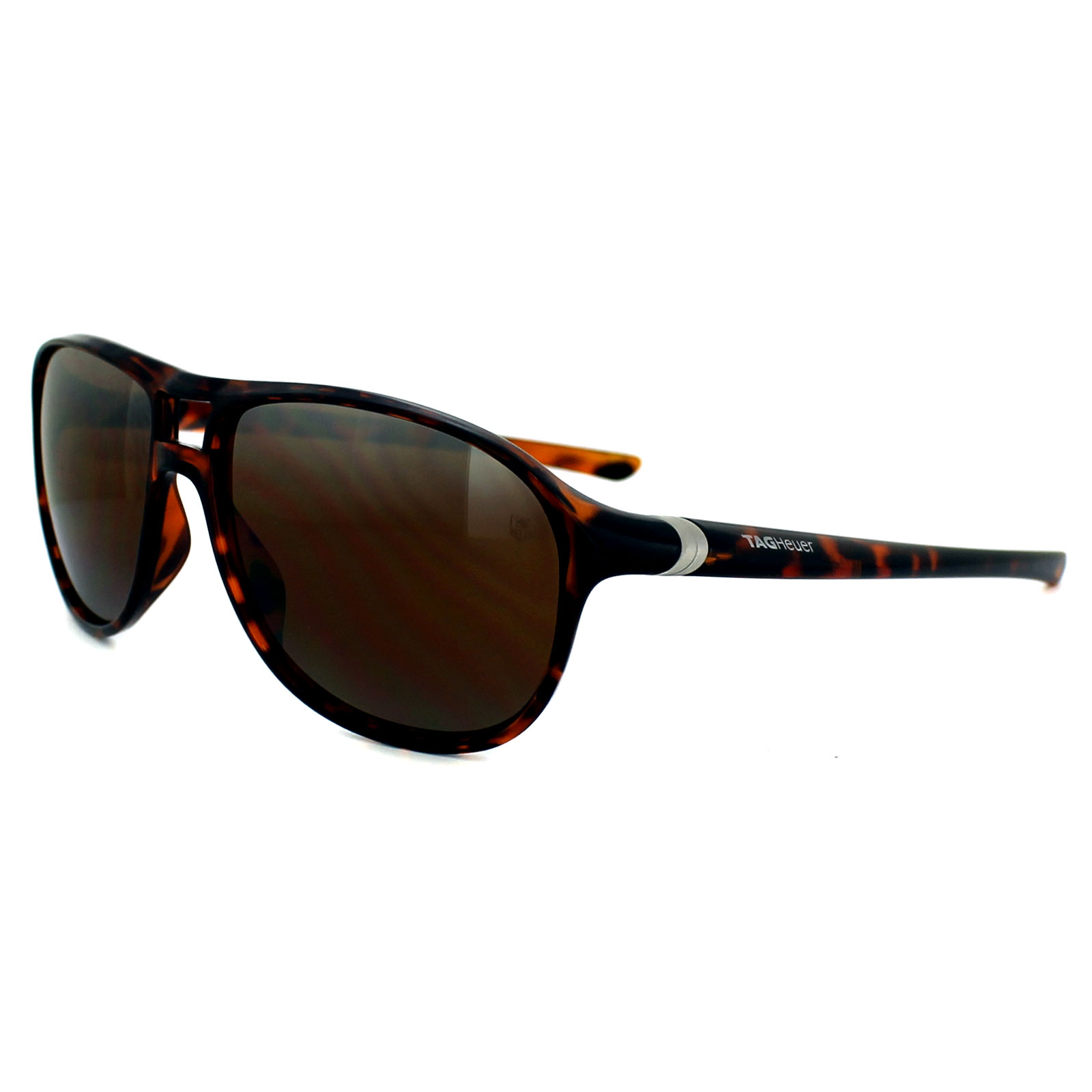 fbe4b43ae8 Tag Heuer Sunglasses 27 Degree 6043 211 Shiny Tortoise Outdoor Brown ...