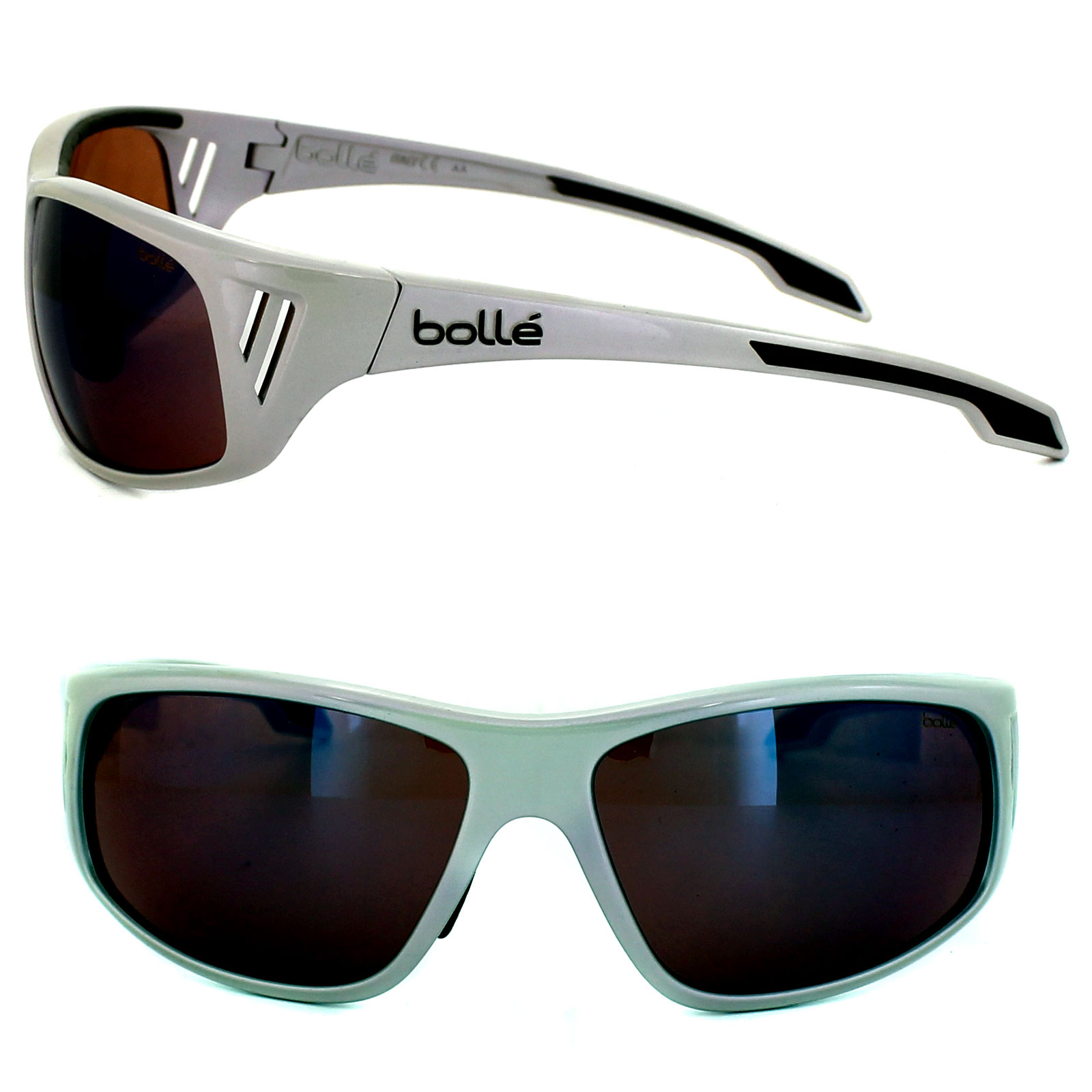 Holographic Details Mirror About Rainier Sunglasses Silver Bolle Rose Blue 11551 kZPiuOX