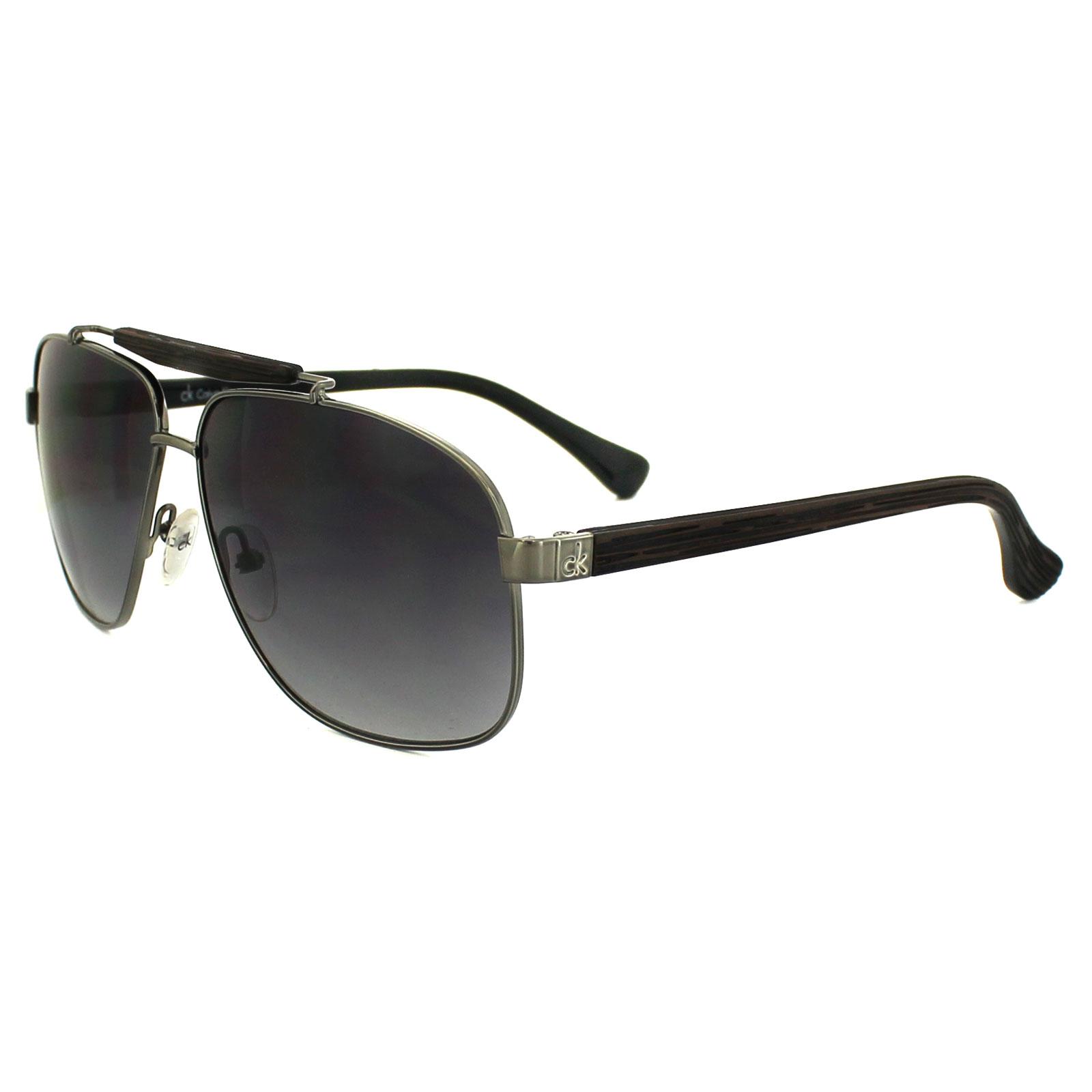 ac49694c2 Calvin Klein Sunglasses 1187 031 Iron Brown Brown Gradient ...