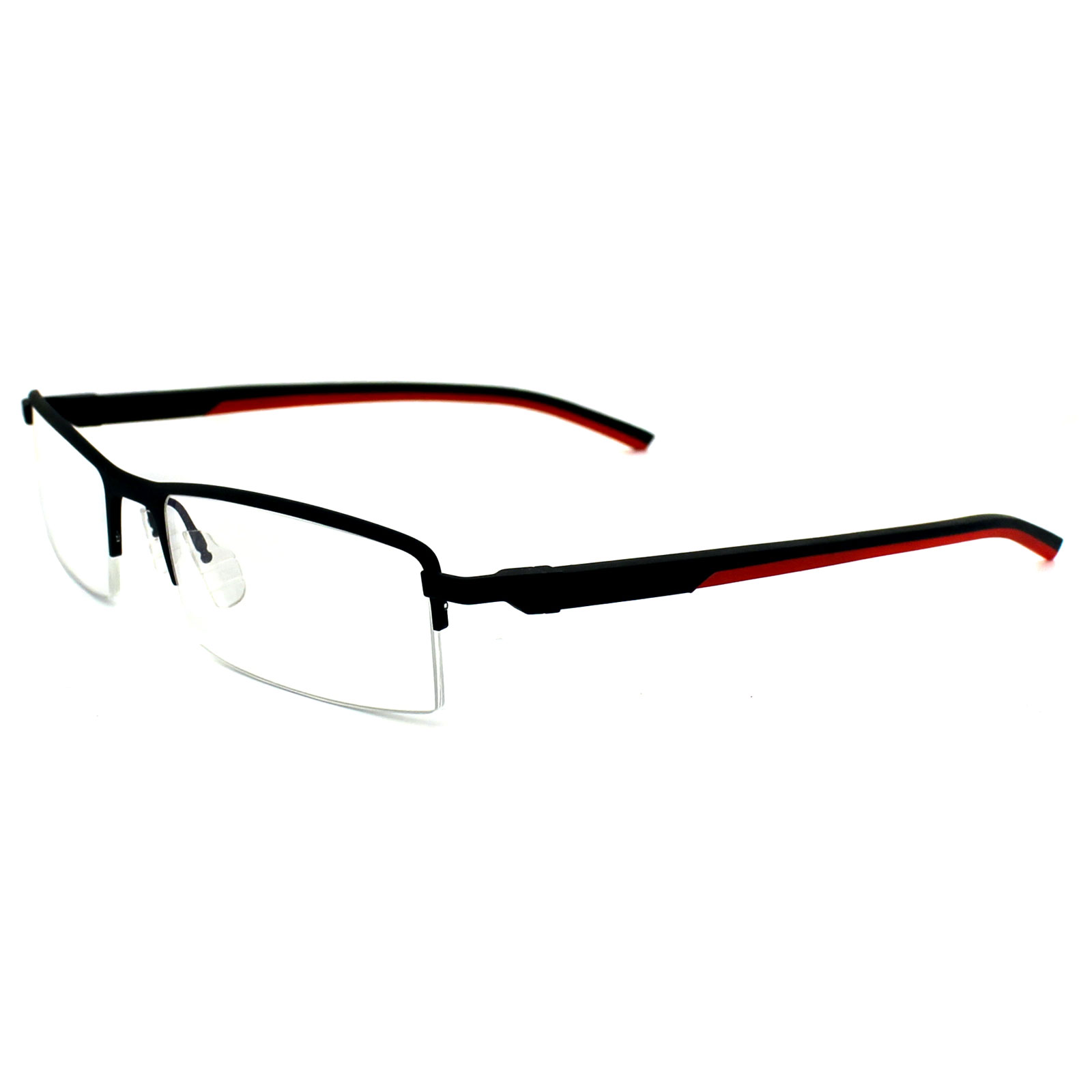 Tag Heuer Glasses Frames Automatic 0821 012 Matt Black & Red | eBay