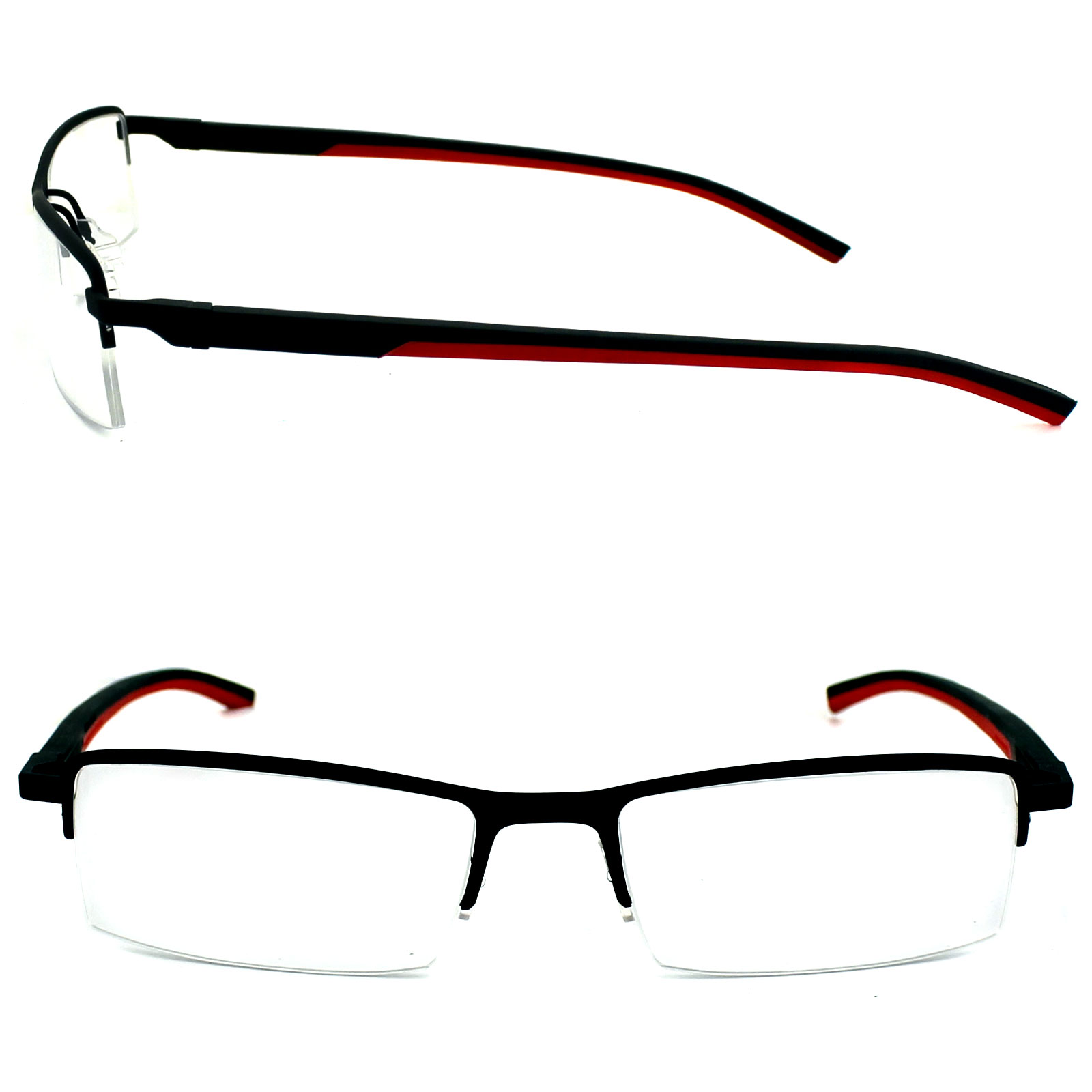 Cheap Tag Heuer Glasses Frames Automatic 0821 012 Matt Black & Red ...
