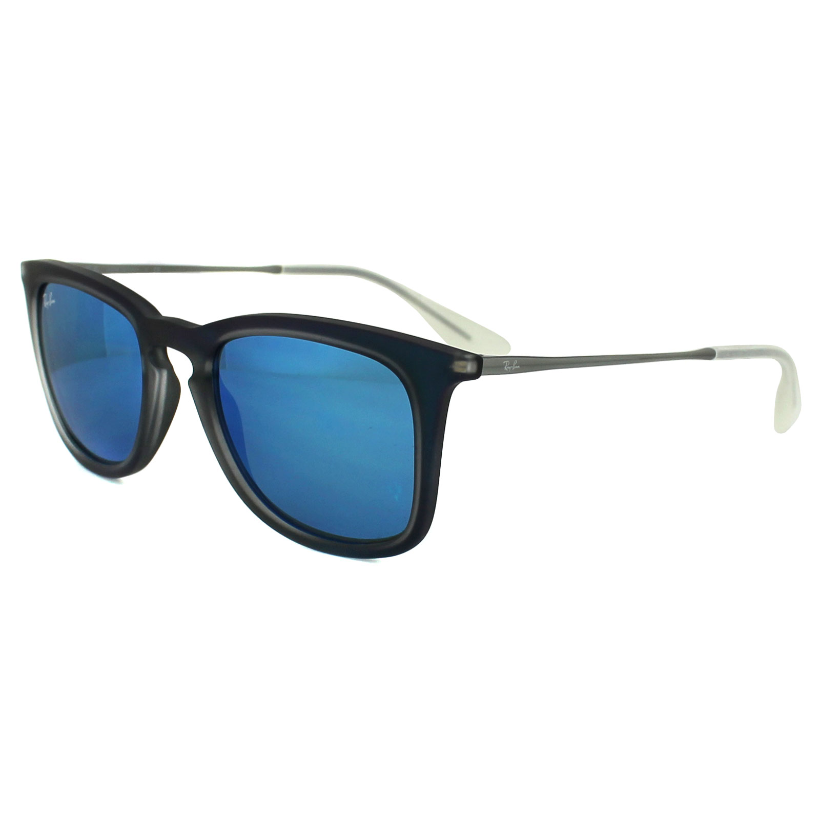 c384a9b1bbf Sentinel Ray-Ban Sunglasses 4221 617055 Blue   Gunmetal Blue Mirror