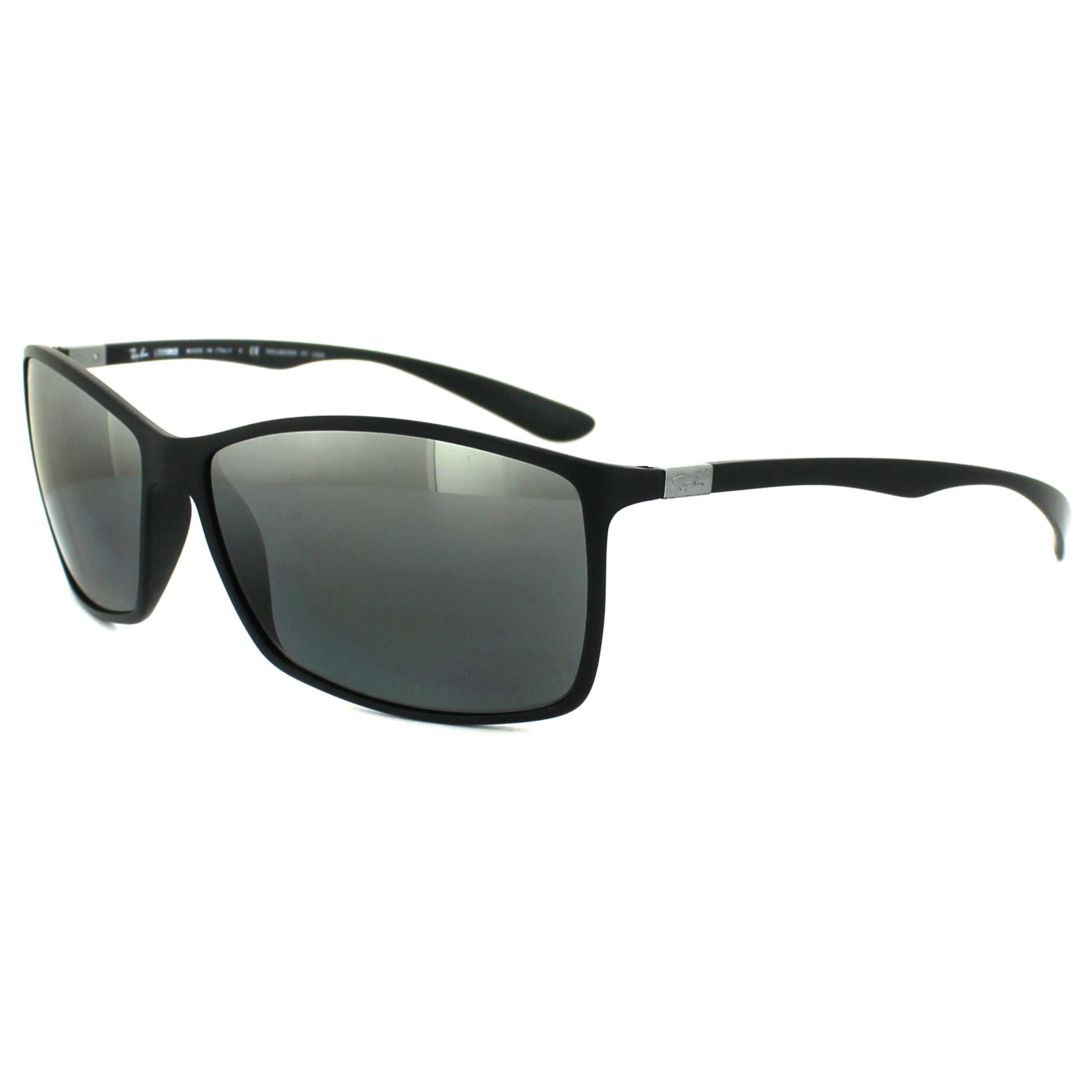 afe3cba575c Sentinel Ray-Ban Sunglasses 4179 601S82 Black Silver Mirror Polarized