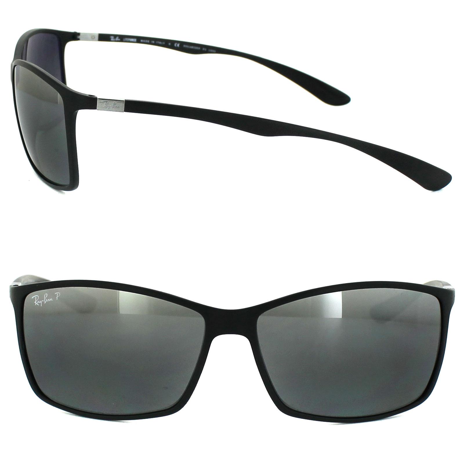 f8f7063a793 CENTINELA Ray-Ban gafas de sol 4179 601S82 espejo plata negro polarizado