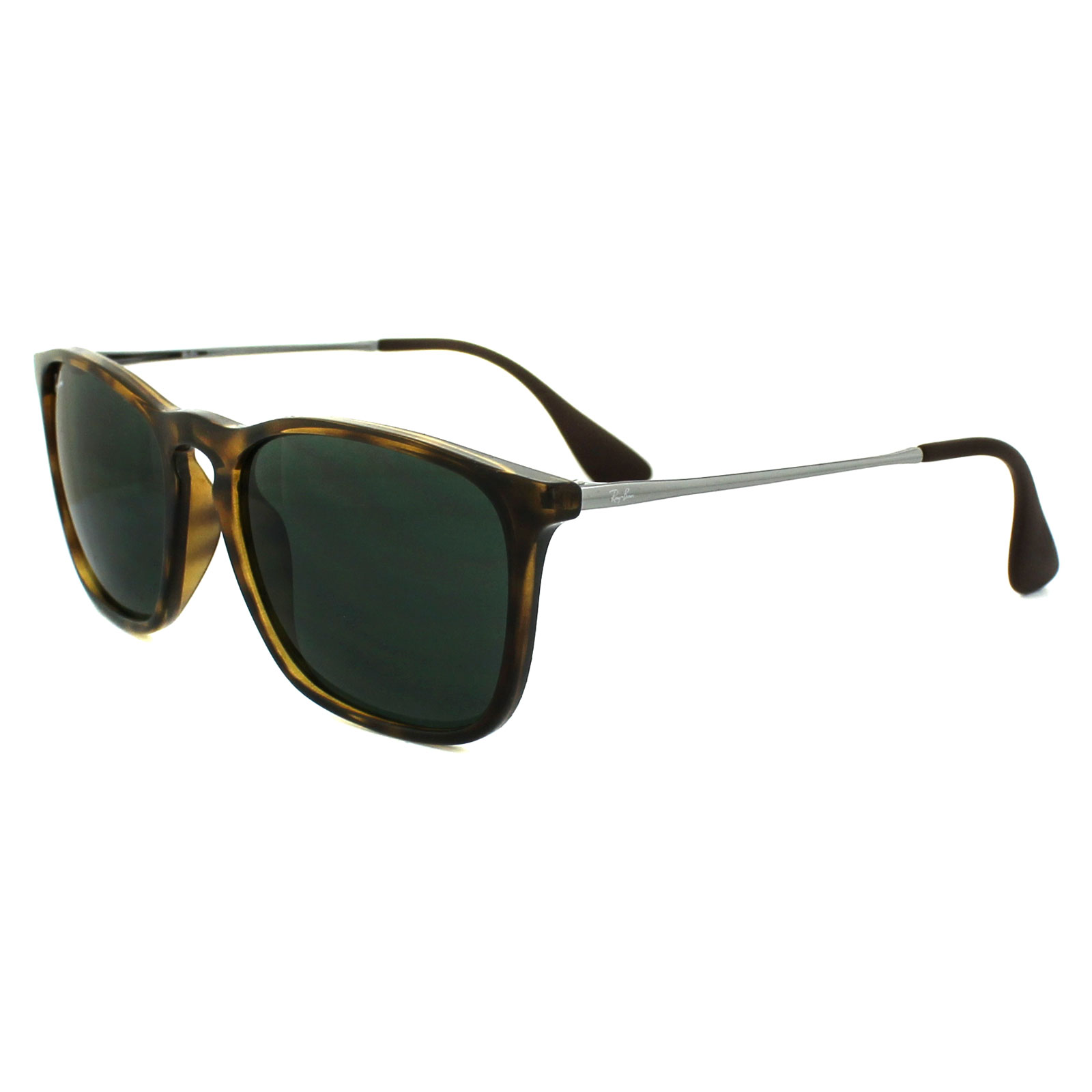 5ec957d349 Sentinel Ray-Ban Sunglasses Chris 4187 710 71 Tortoise   Gunmetal Green
