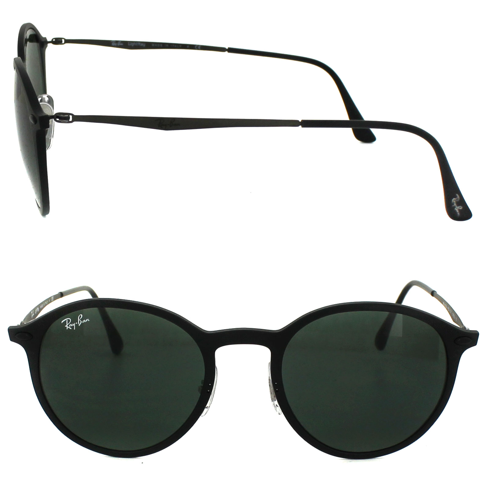 e6fc20ad372 Ray-Ban Sunglasses 4224 601S71 Black Green 8053672441161