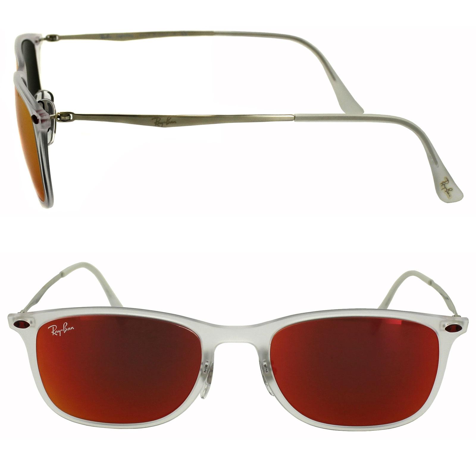 Ray-Ban Gafas de sol nuevas WAYFARER LIGHT RAY 4225 646 / 6q Rojo ...