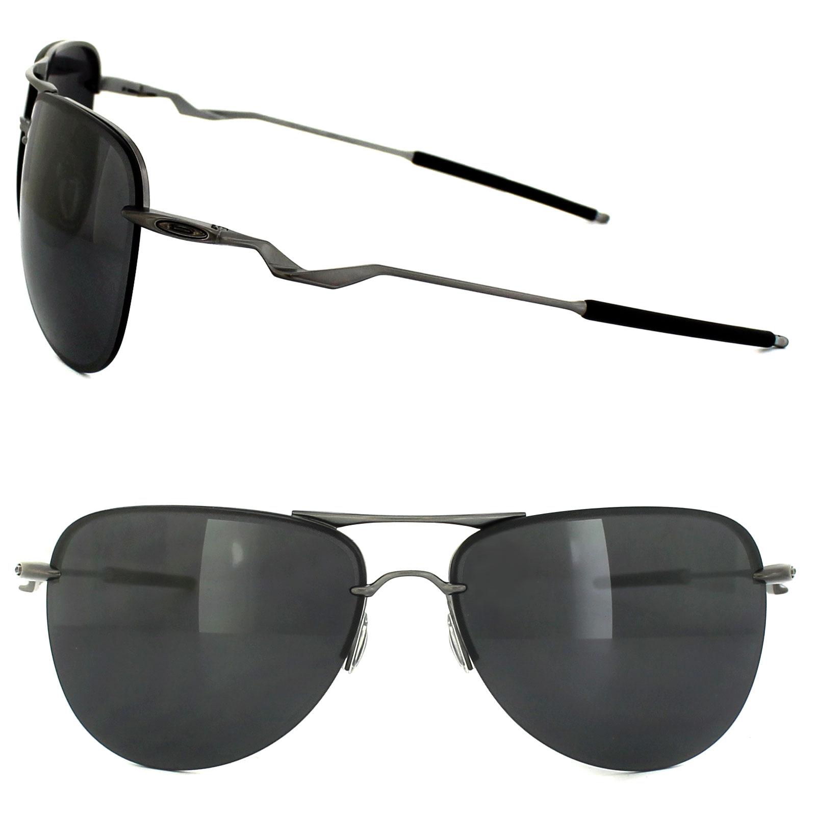 c8fbd48d1c Sentinel Oakley Sunglasses Tailpin OO4086-01 Lead Black Iridium
