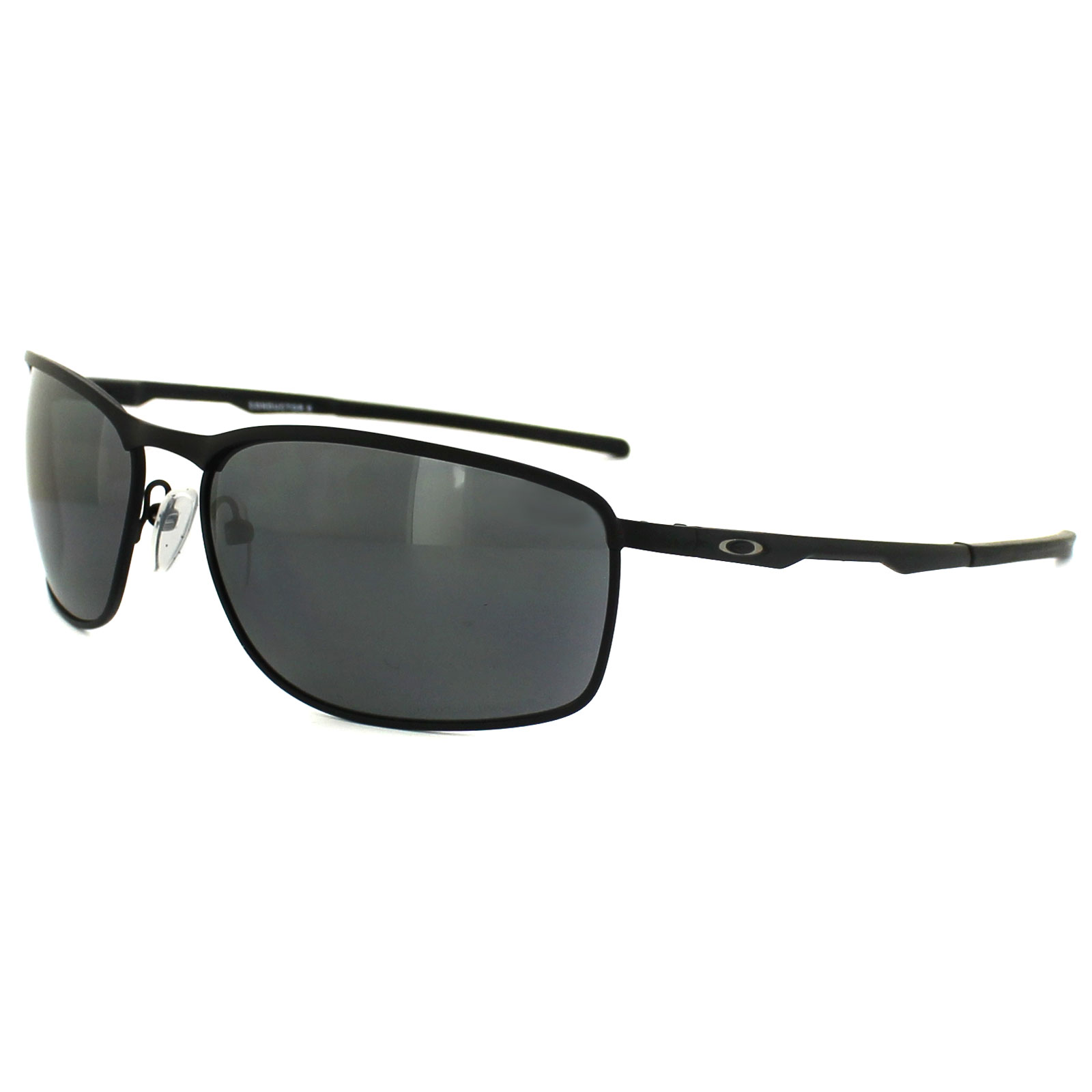 ed2603478cb Sentinel Oakley Sunglasses Conductor 8 OO4107-02 Matt Black Black Iridium  Polarized