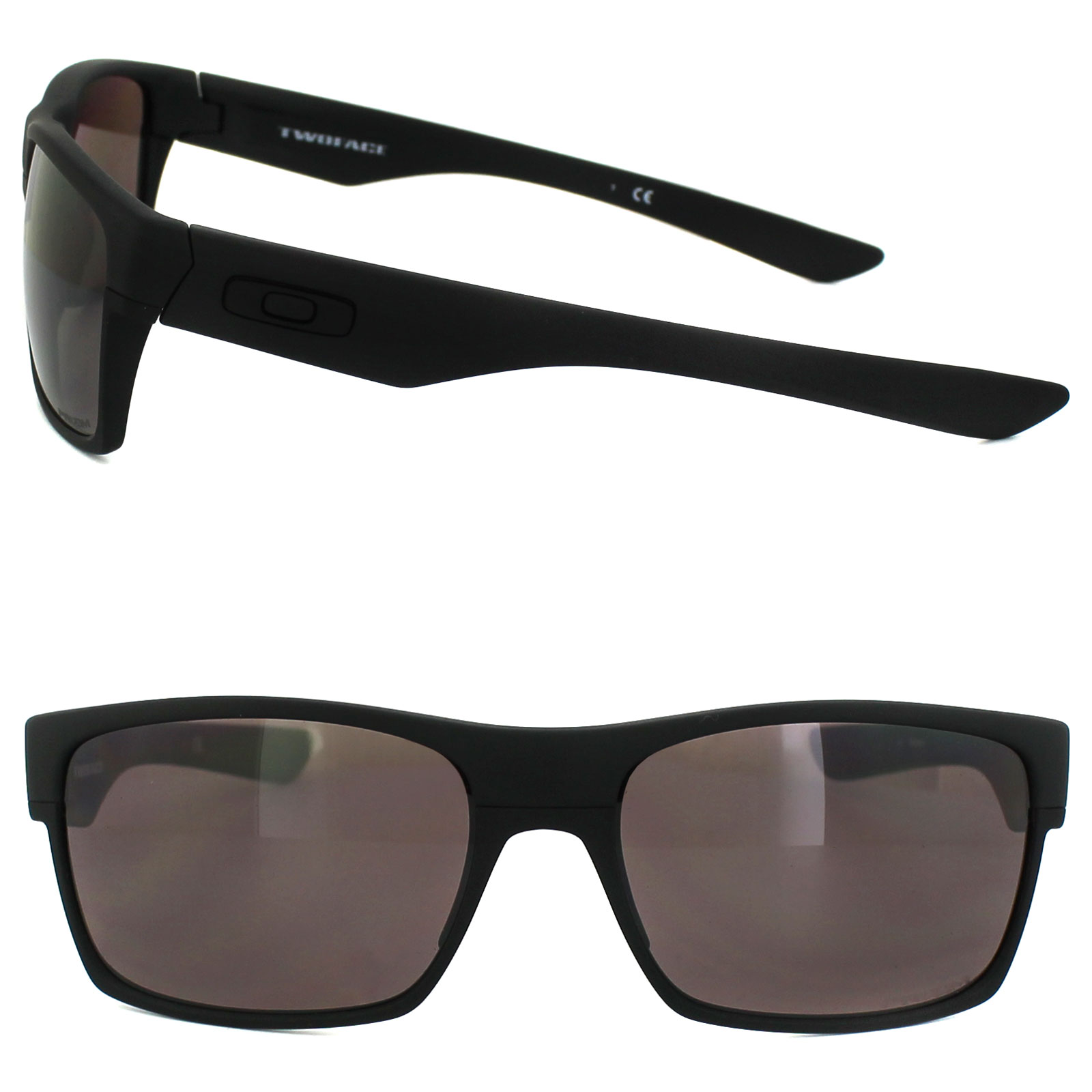 Sentinel Oakley Sunglasses TwoFace OO9189-26 Covert Matt Black Prizm Daily  Polarized 6aeaf71a34