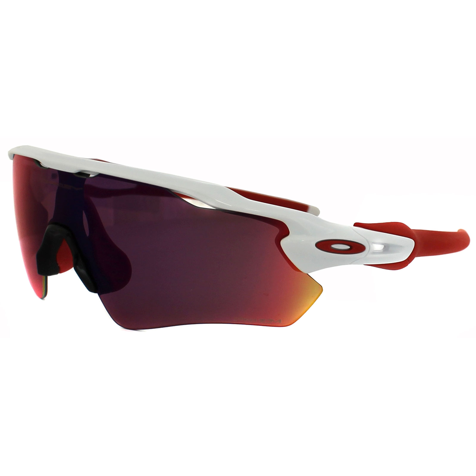 50711bc200dfc6 Sentinel Oakley Sunglasses Radar EV Path OO9208-05 Polished White Prizm Road