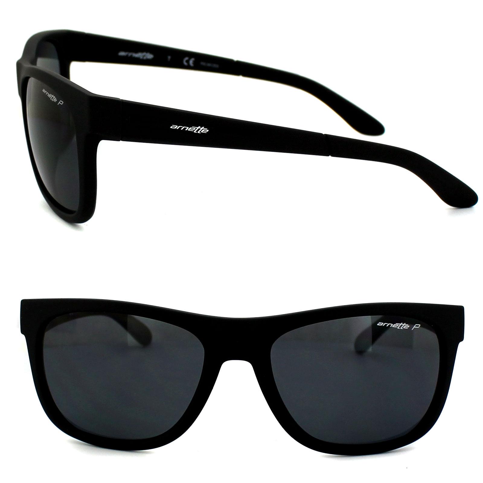 7dd28f84d2 Details about Arnette Sunglasses 4206 Fire Drill Lite 447 81 Fuzzy Black  Grey Polarized